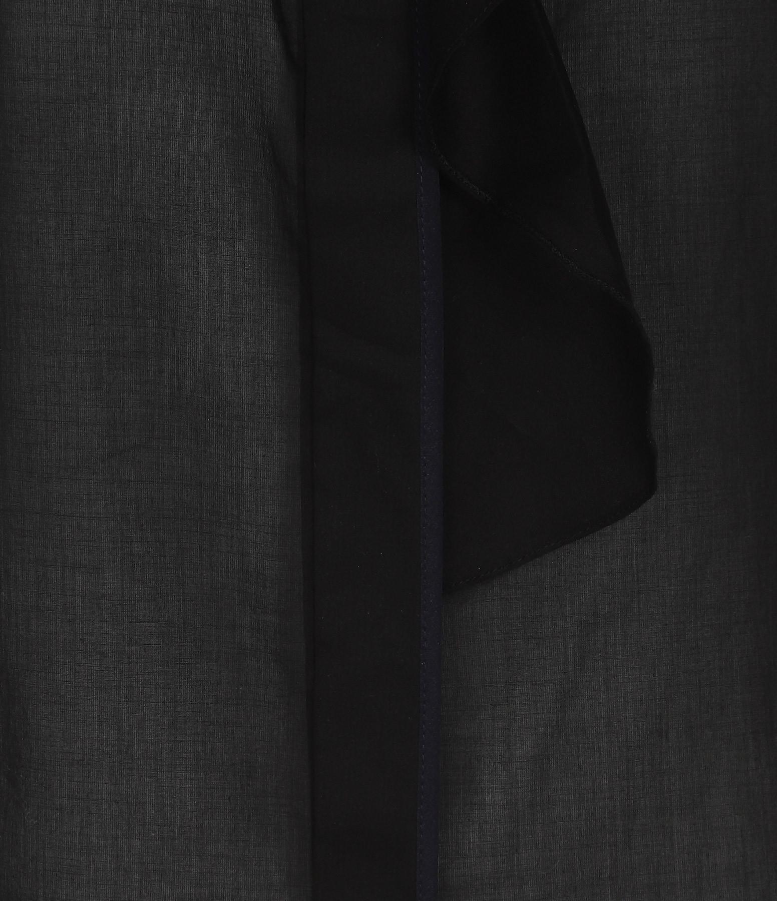 VICTORIA VICTORIA BECKHAM - Chemise Flute Coton Noir
