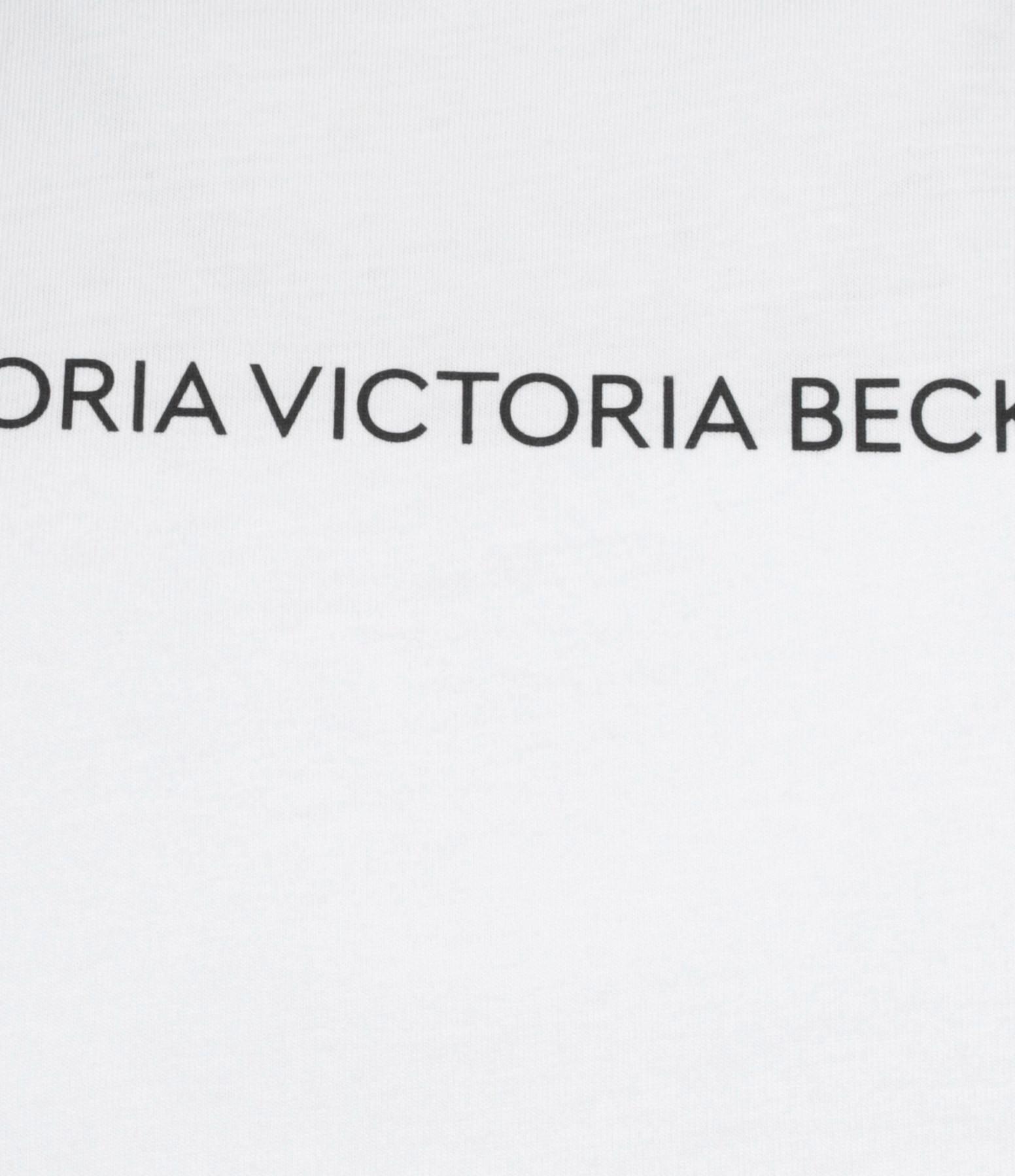 VICTORIA VICTORIA BECKHAM - Tee-shirt Logo Blanc