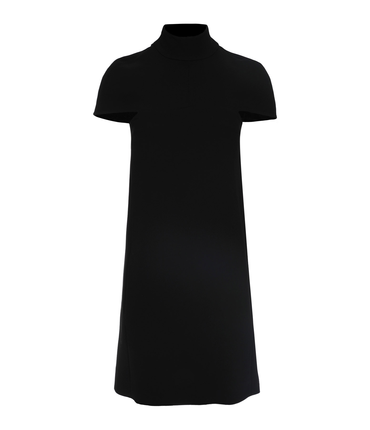 VICTORIA VICTORIA BECKHAM - Robe Cape Crêpe Noir