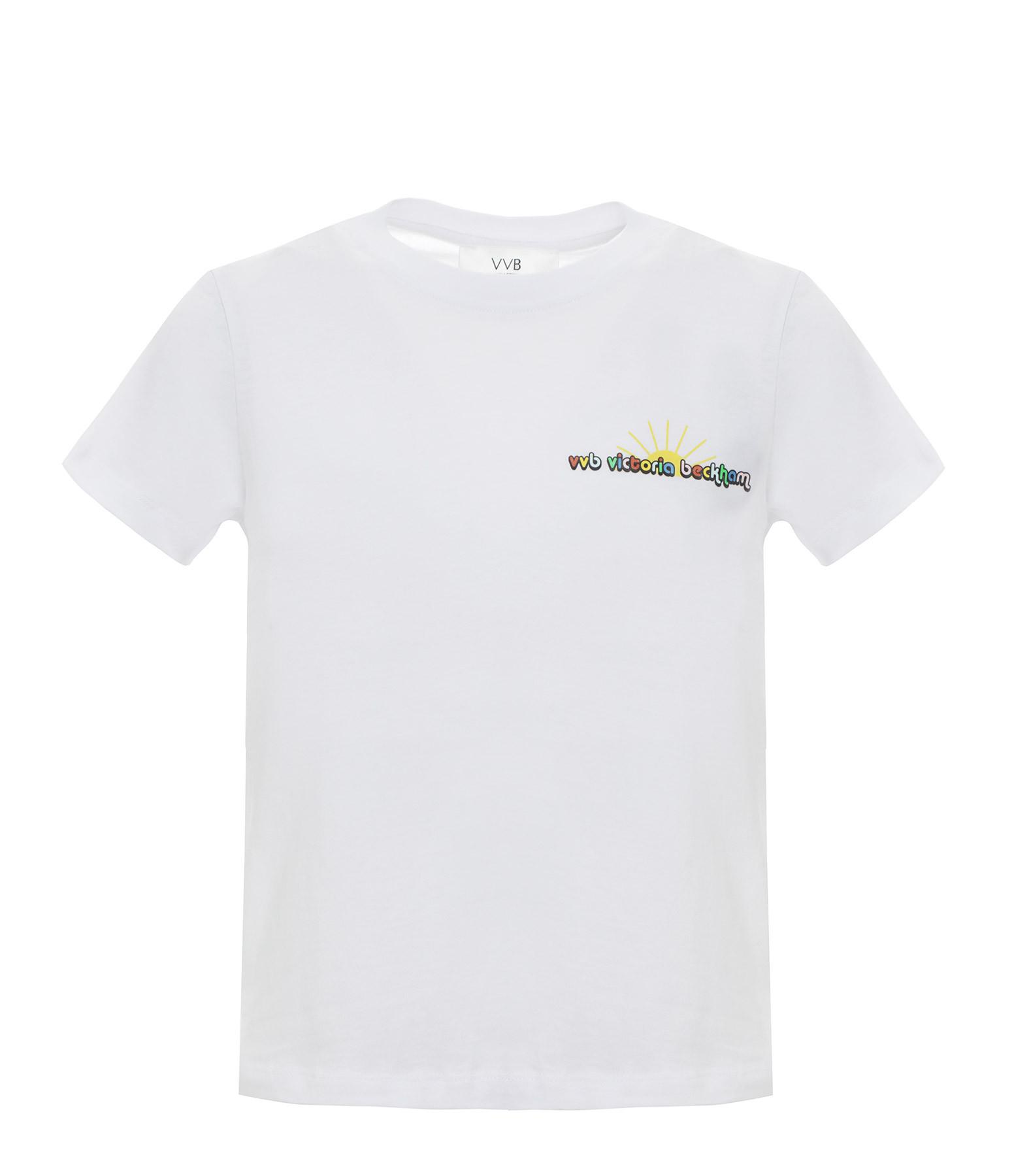 VICTORIA VICTORIA BECKHAM - Tee-shirt Logo Slim Fit Blanc