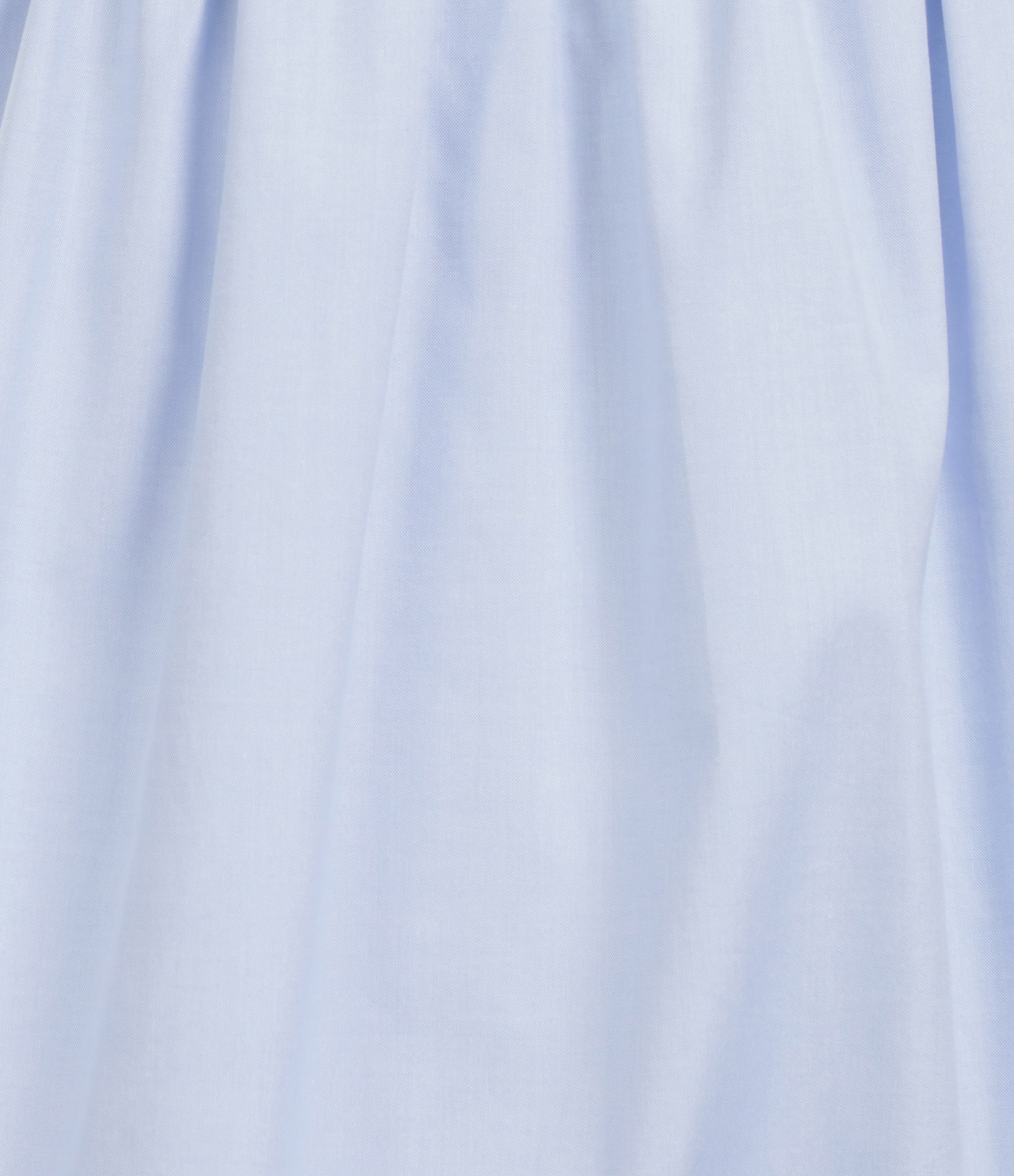 VICTORIA VICTORIA BECKHAM - Robe Bleu Oxford