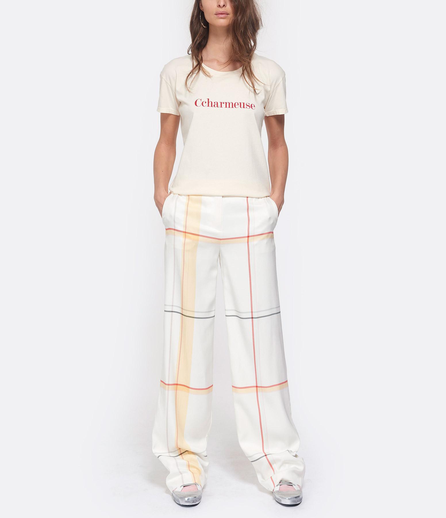 VANESSA BRUNO - Tee-shirt Ccharmeuse Coton Ivoire