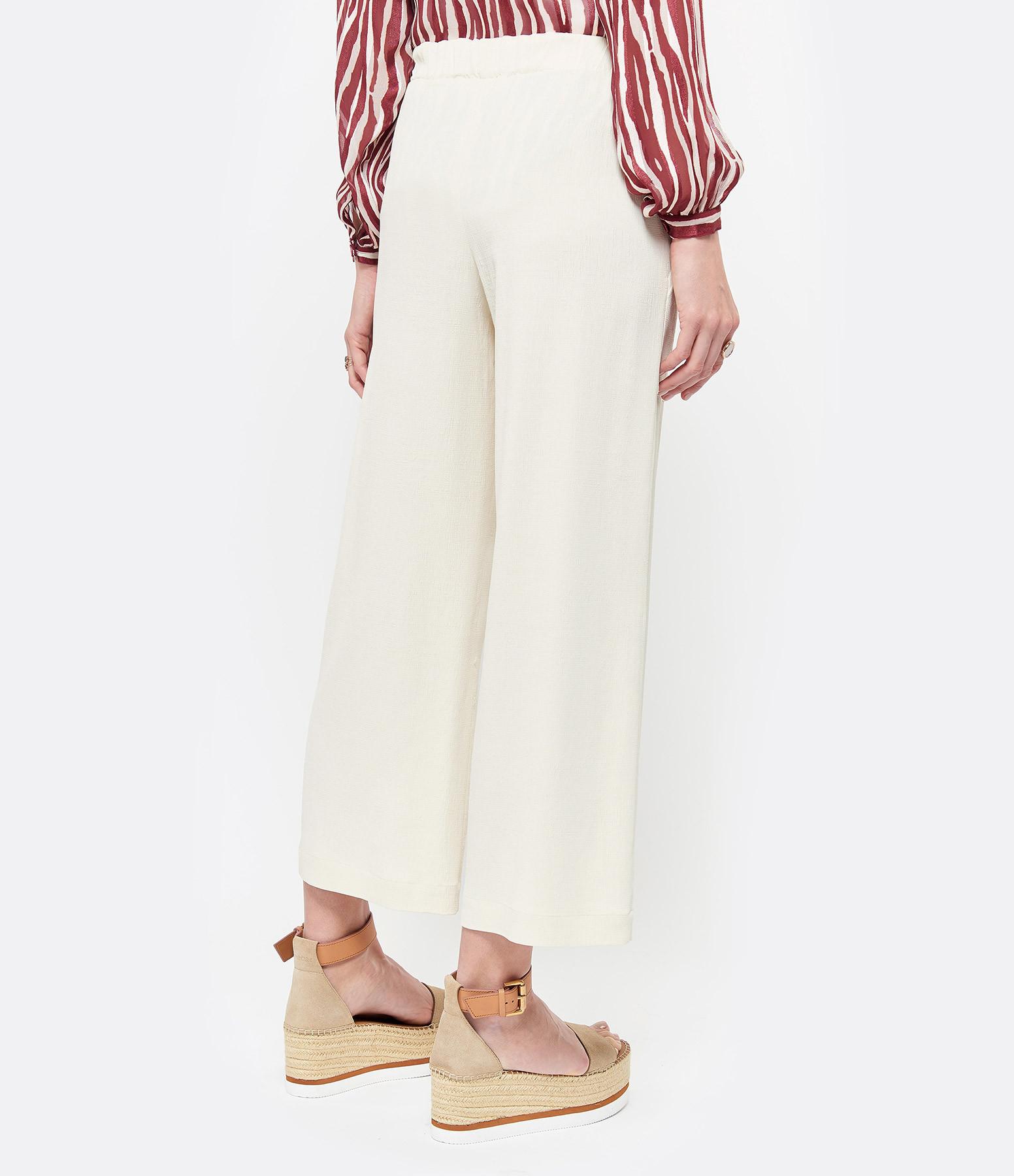 VANESSA BRUNO - Pantalon Lyor Crème
