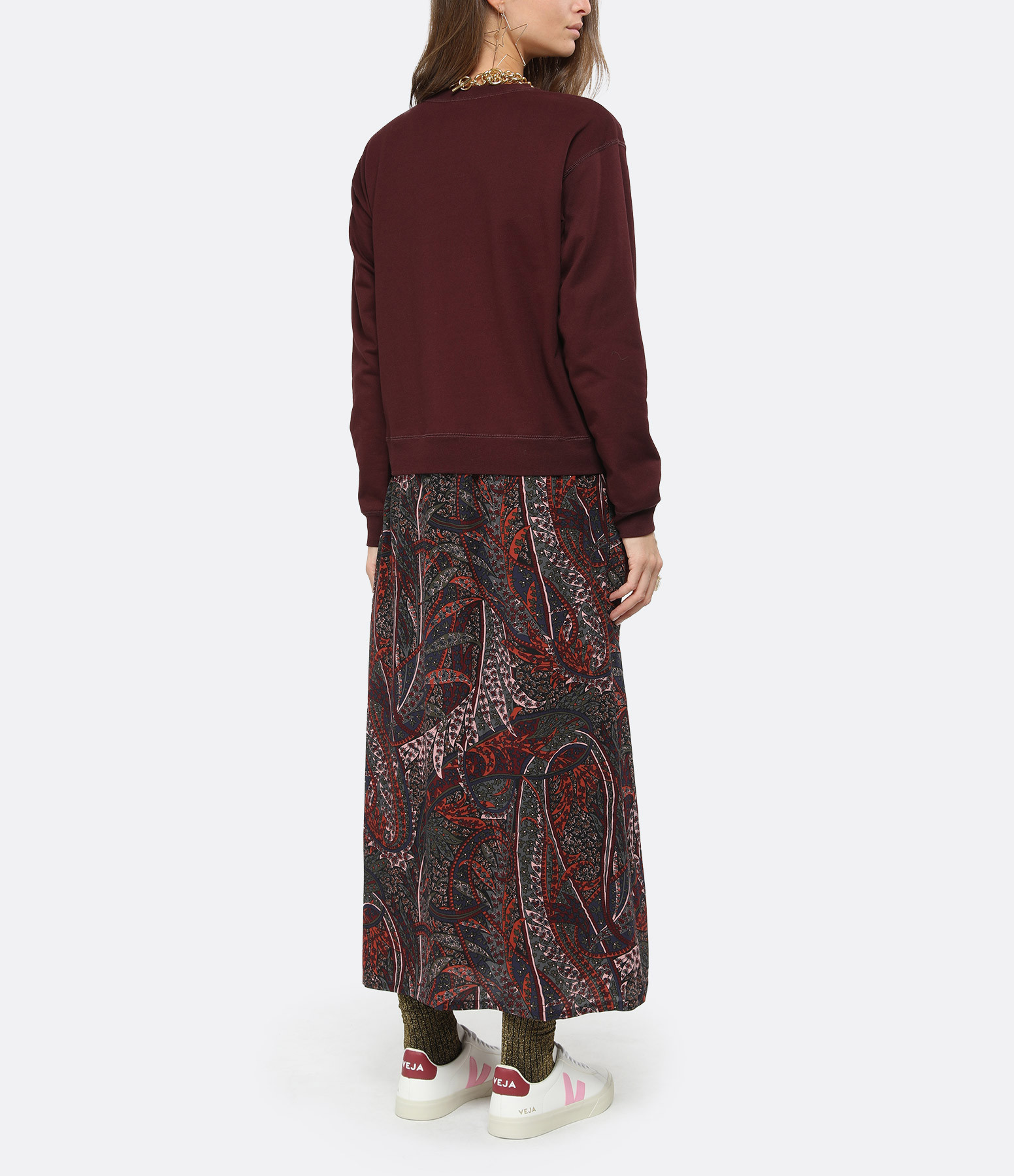 VANESSA BRUNO - Robe Peg Bordeaux