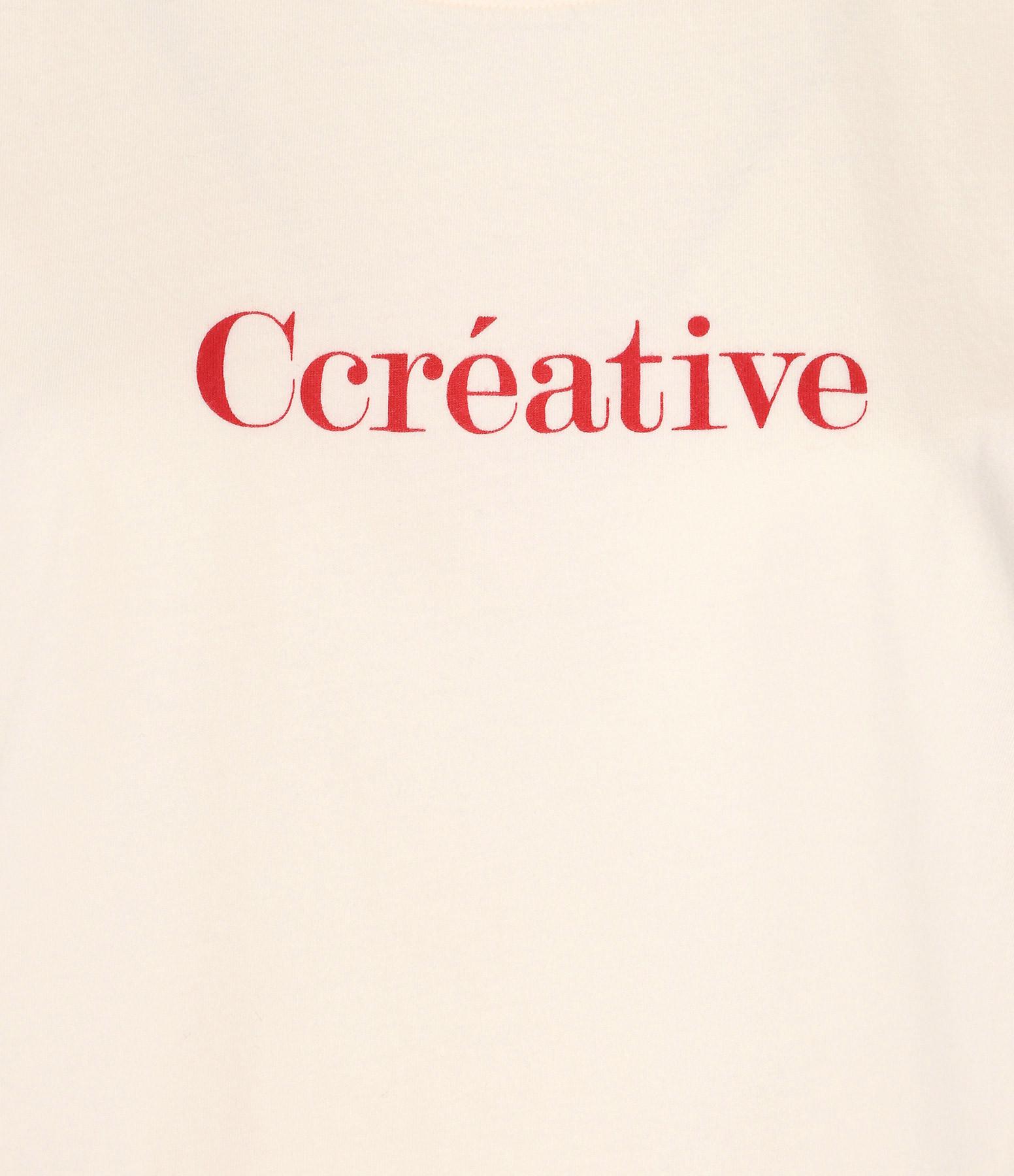 VANESSA BRUNO - Tee-shirt Ccréative Coton Ivoire
