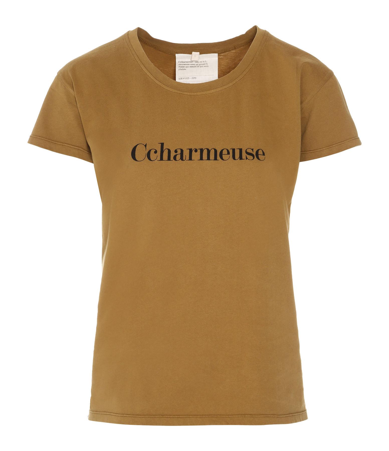 VANESSA BRUNO - Tee-shirt Ccharmeuse Coton Kaki
