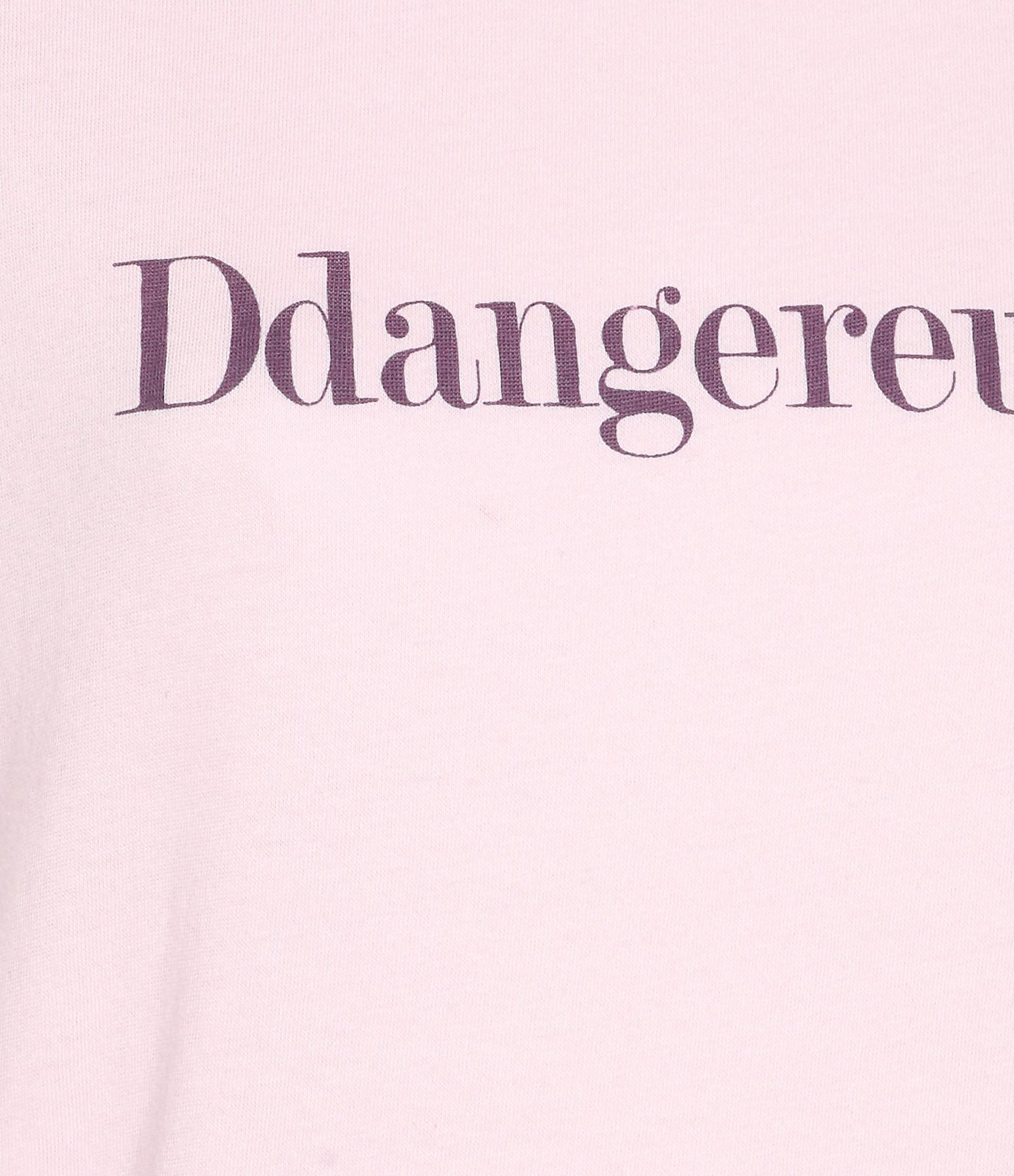 VANESSA BRUNO - Tee-shirt DDangereuse Coton Rose Poudré