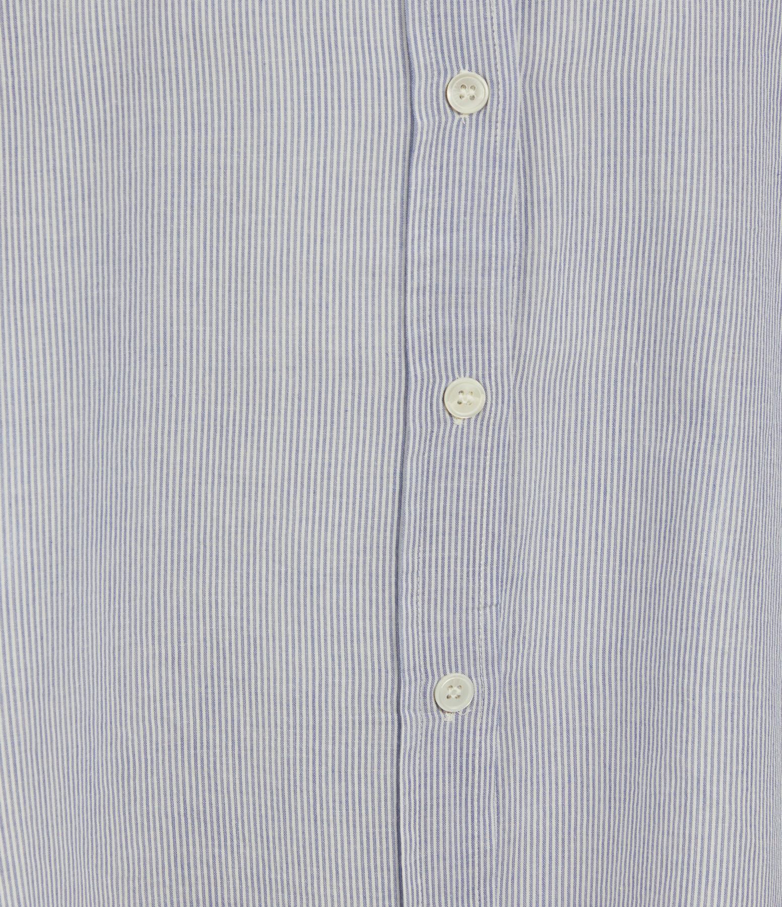 VANESSA BRUNO - Blouse Lidiane Rayures Blanc Bleu