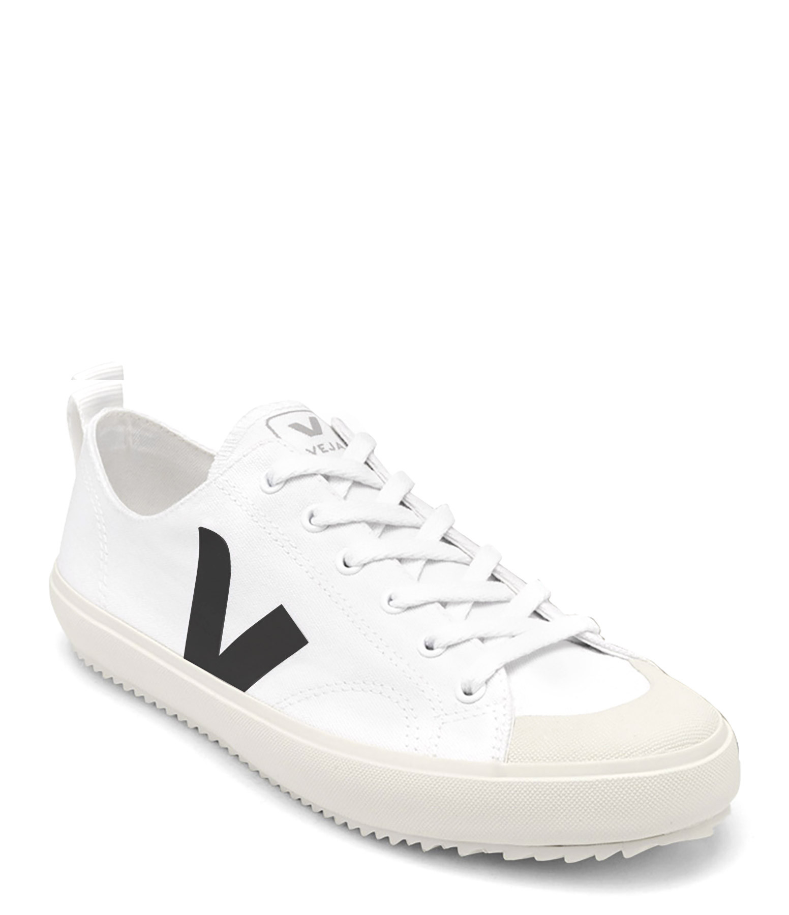 VEJA - Baskets Nova Canvas Blanc Noir