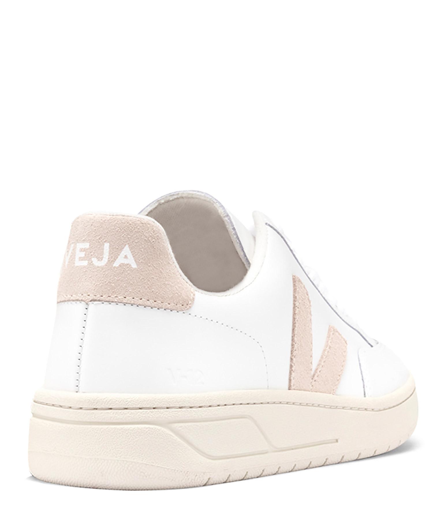 VEJA - Baskets V-12 Cuir Extra White Sable