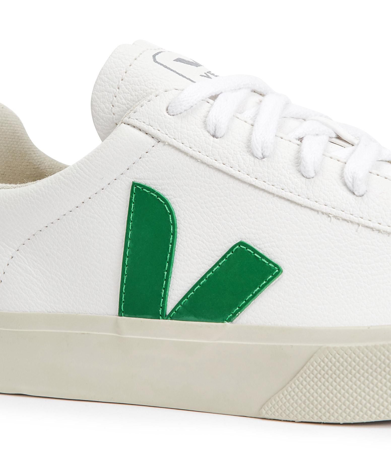 VEJA - Baskets Campo Easy Extra Blanc Emeraude