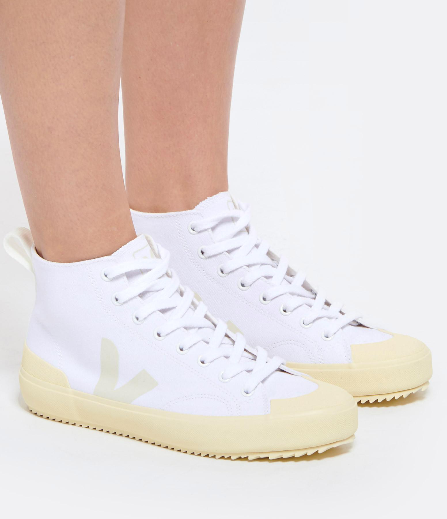 VEJA - Baskets Nova HT Canvas Blanc Butter Sole