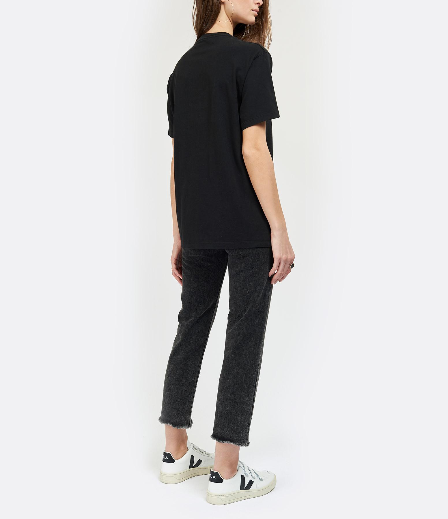 VEJA - Baskets V-12 Velcro Cuir Blanc Noir