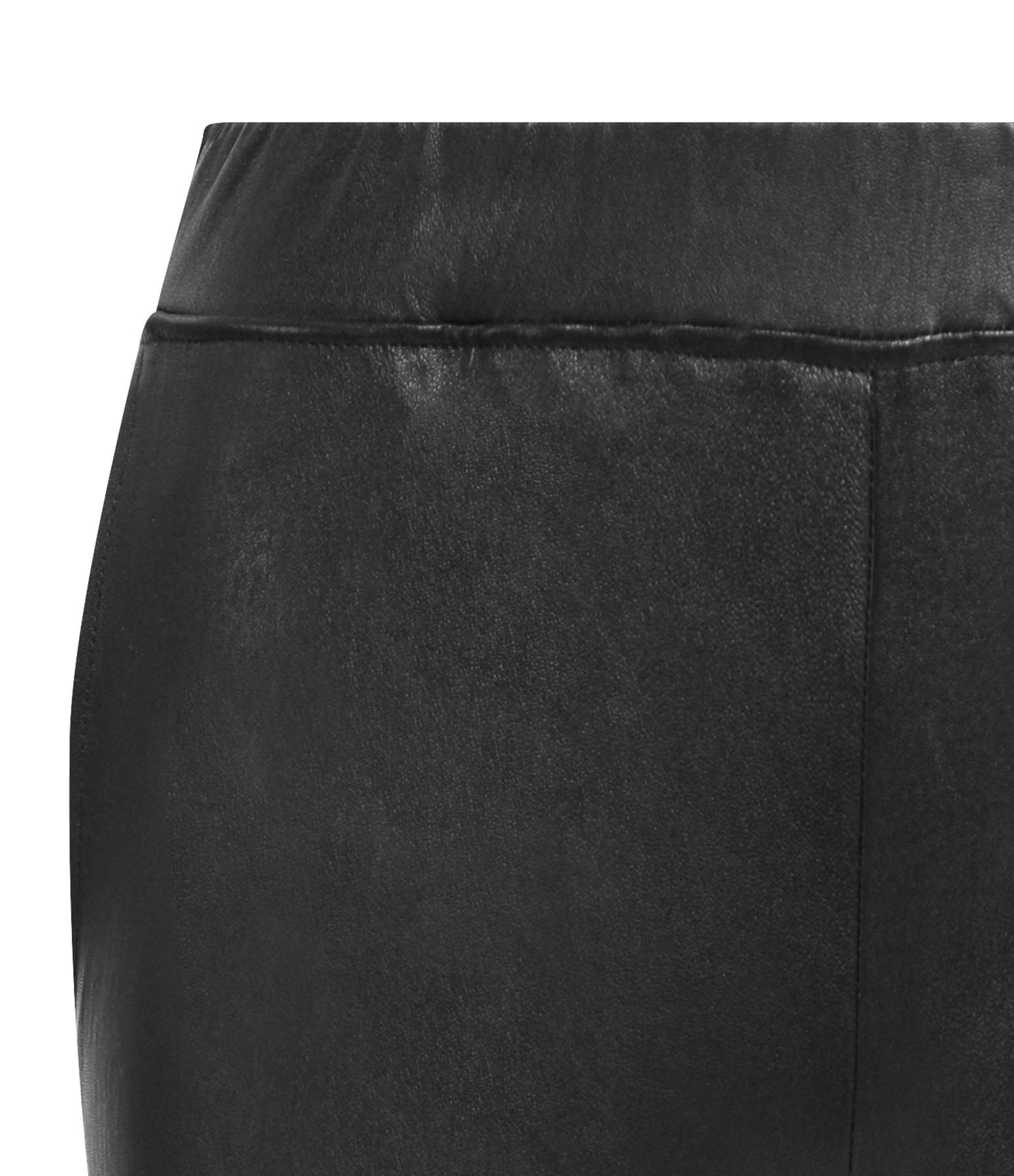 VENTCOUVERT - Pantalon Chino Agneau Stretch Noir