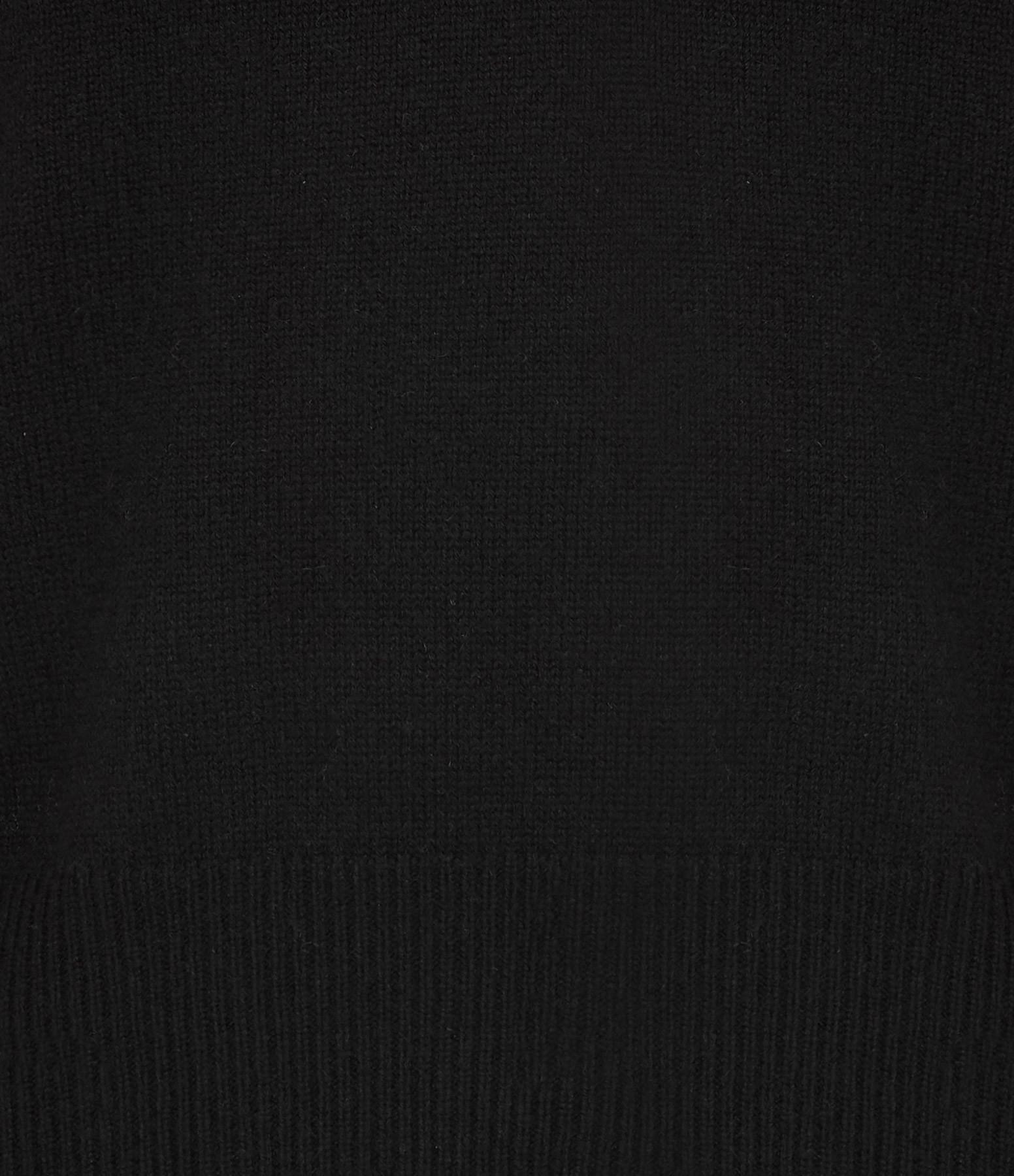 VENTCOUVERT - Pull Maille Noir
