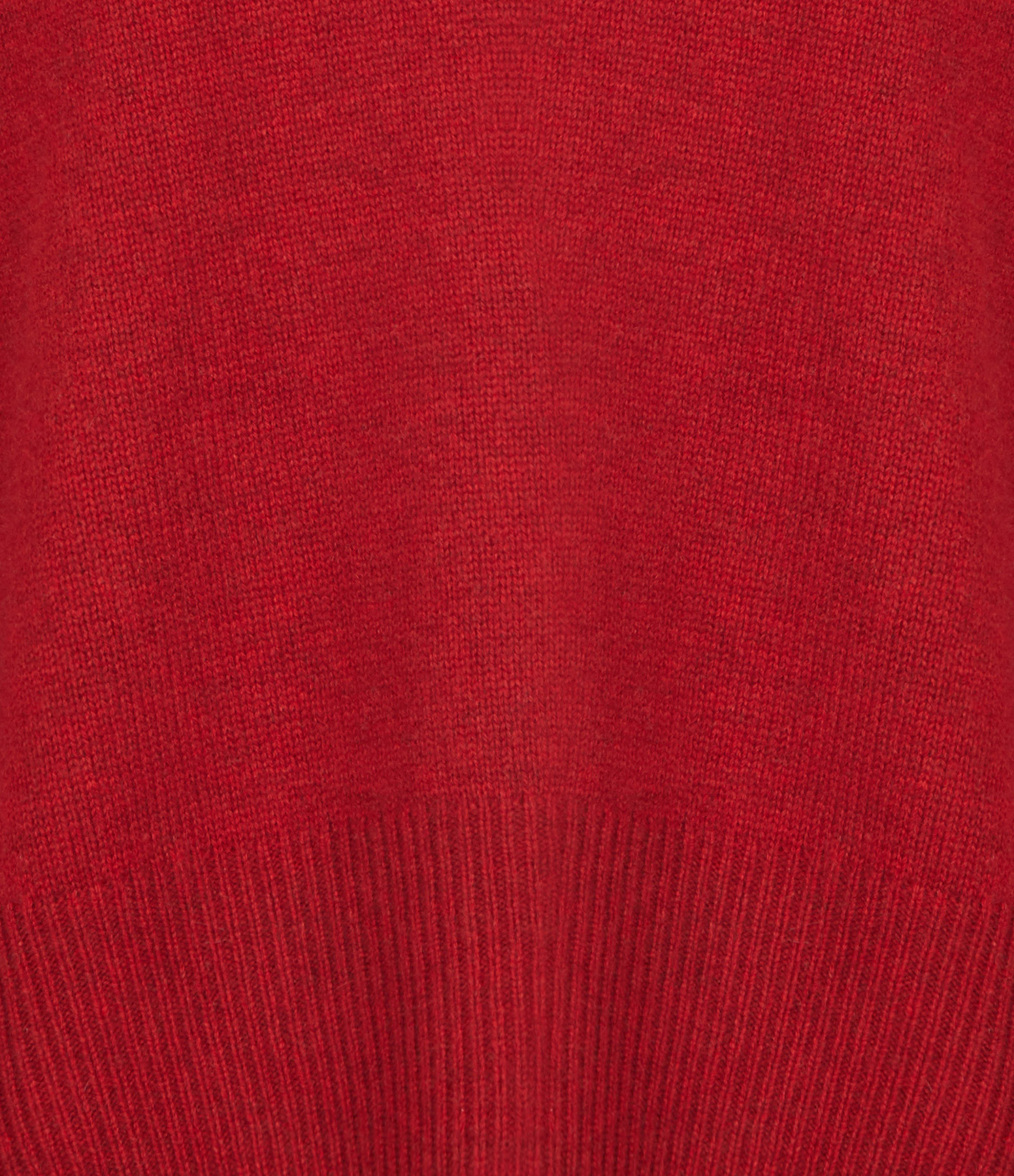 VENTCOUVERT - Pull Maille Rouge