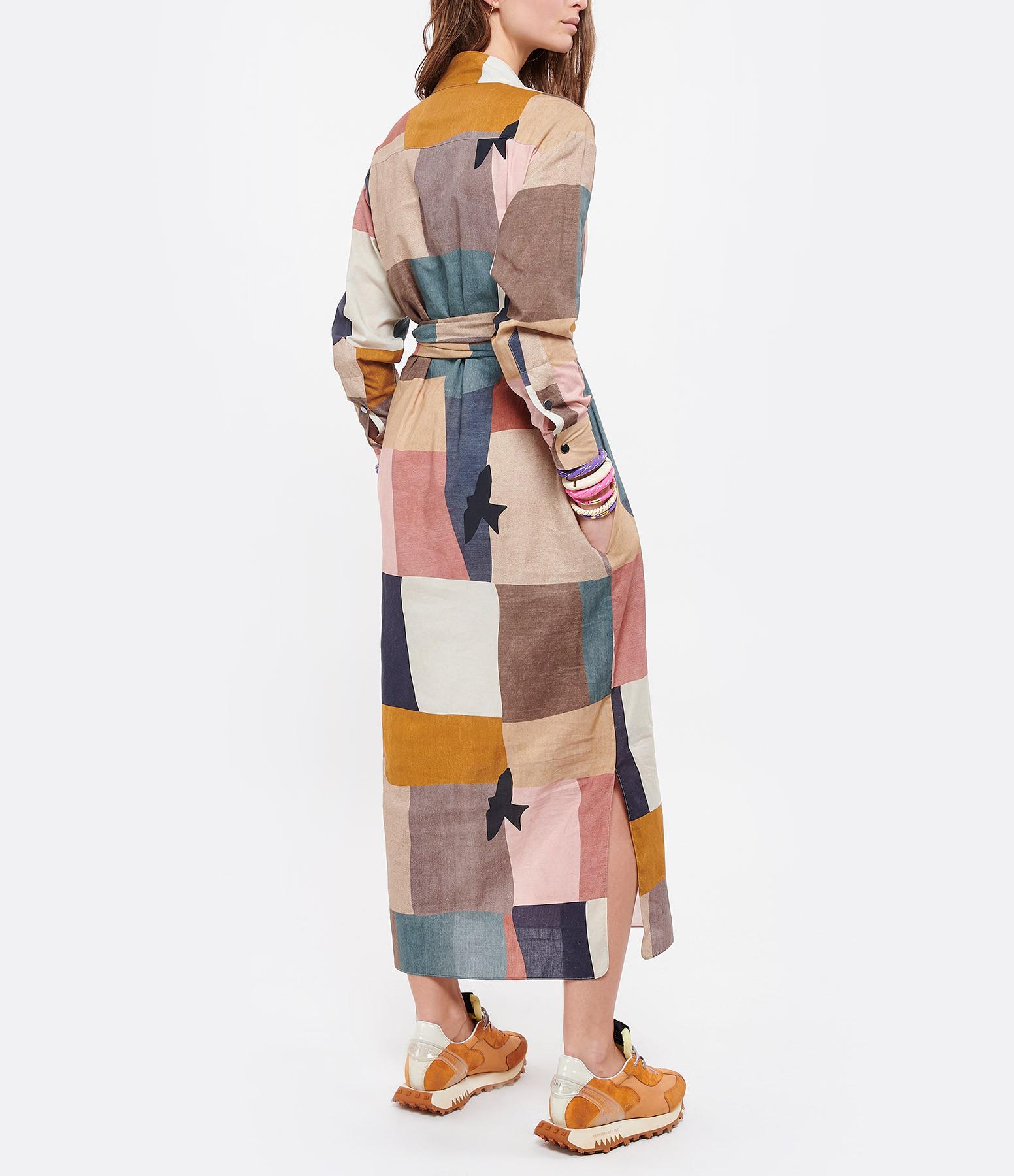 VALENTINE GAUTHIER - Robe Moma Coton Biologique Modernism Imprimé