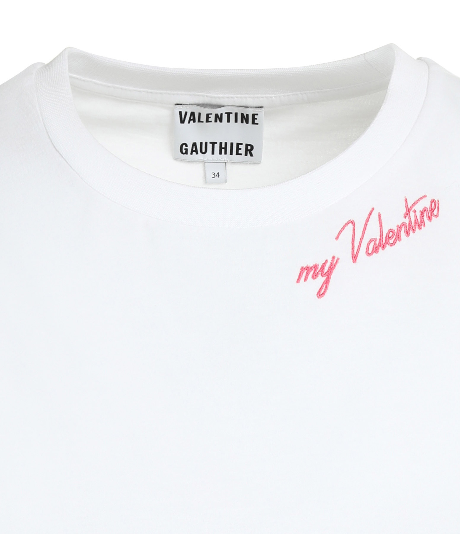 VALENTINE GAUTHIER - Tee-shirt Harris Coton Blanc