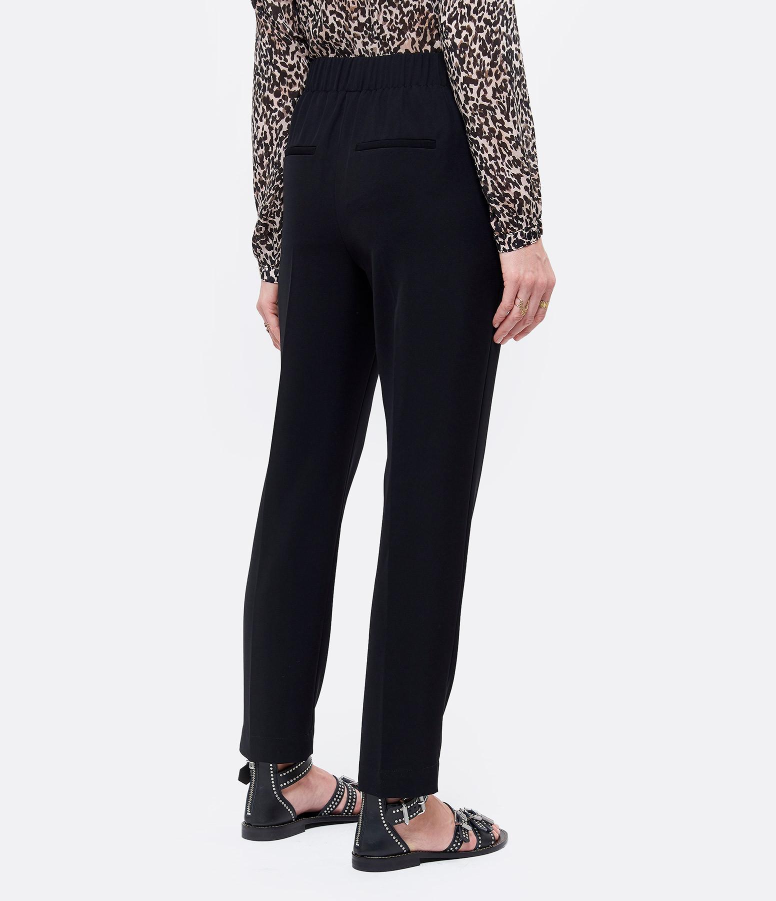 VINCE - Pantalon Effilé Noir