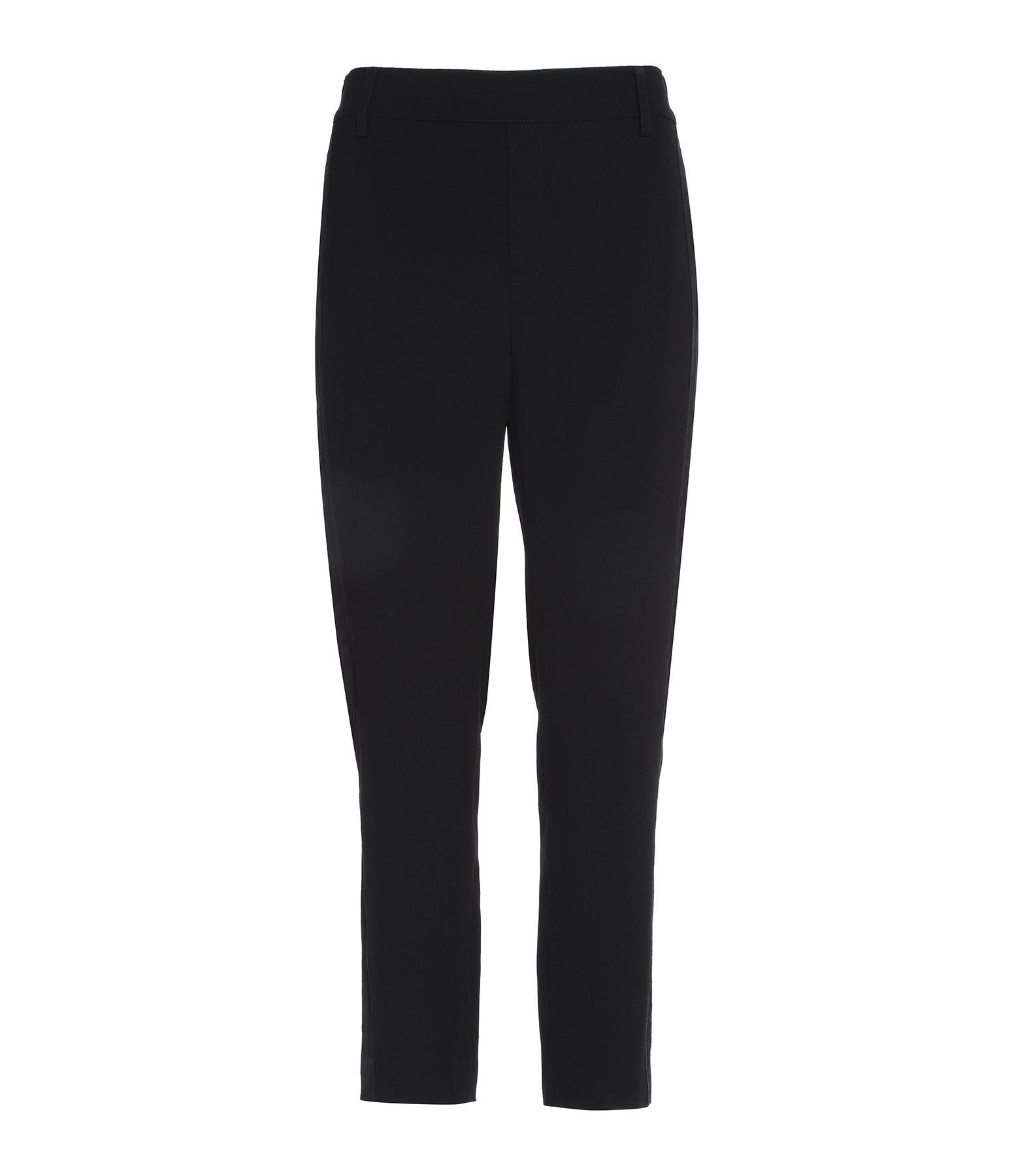 VINCE - Pantalon Satin Noir 8560d1f01442