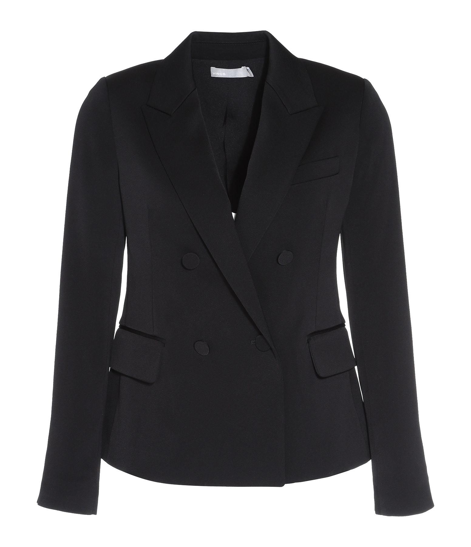 VINCE - Blazer Tuxedo Noir