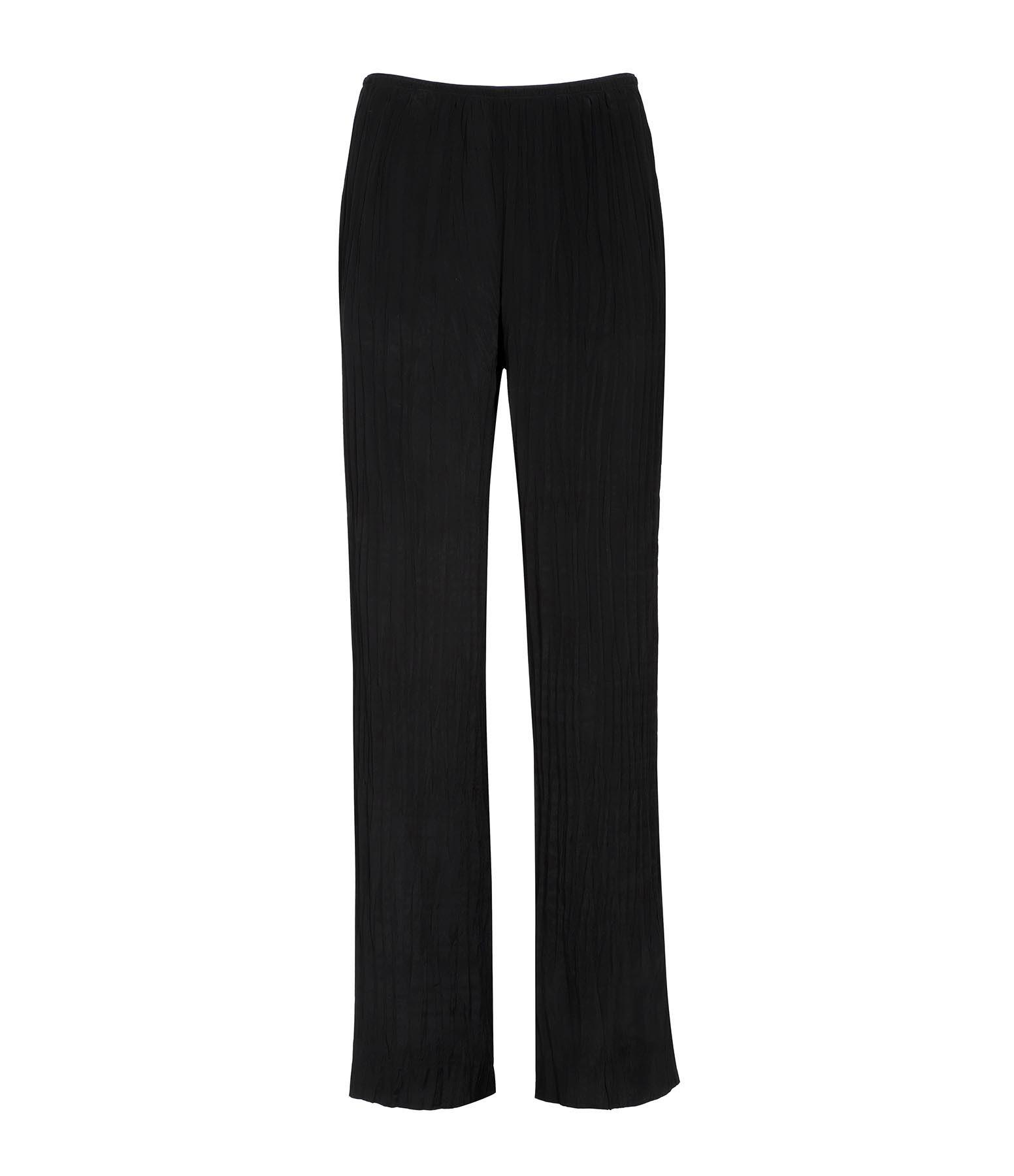 VINCE - Pantalon Fluide Noir