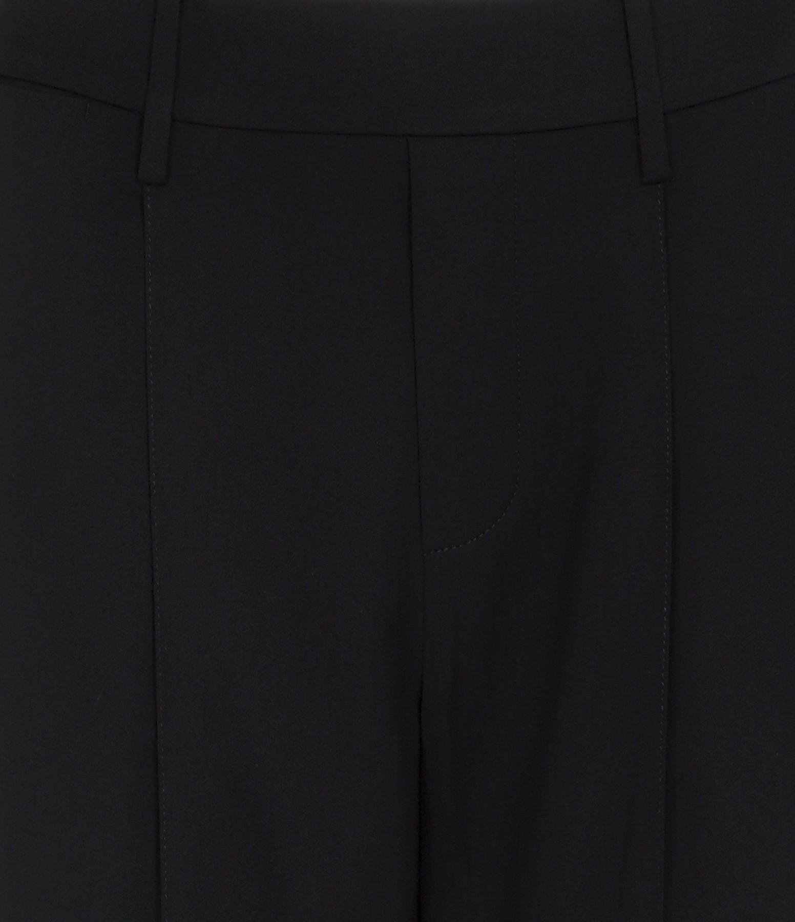VINCE - Pantalon Large Noir
