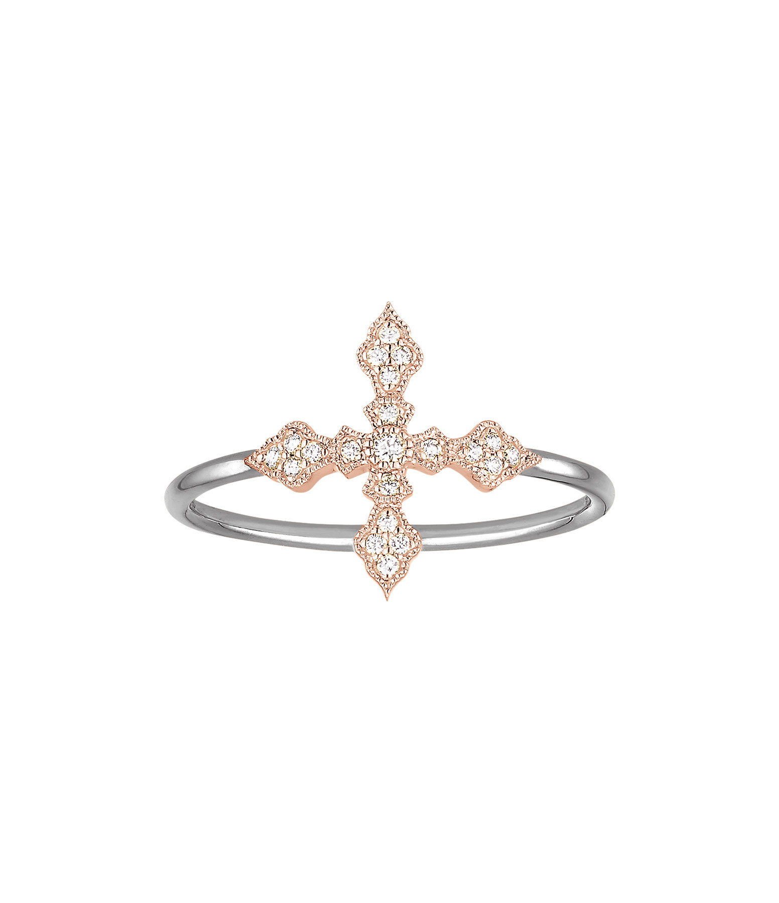 STONE PARIS - Bague Virgin Or Diamants