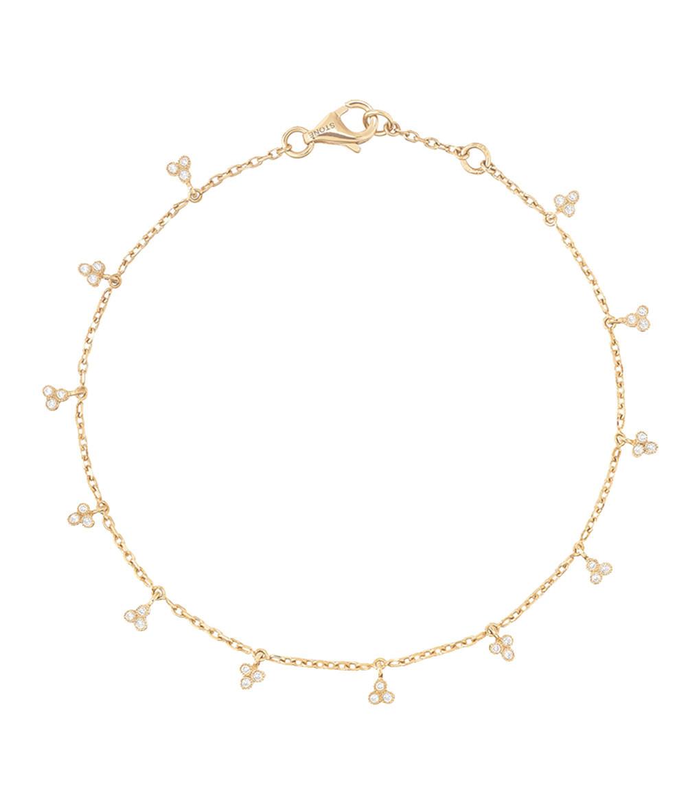 STONE PARIS - Bracelet Volupté Or Diamants