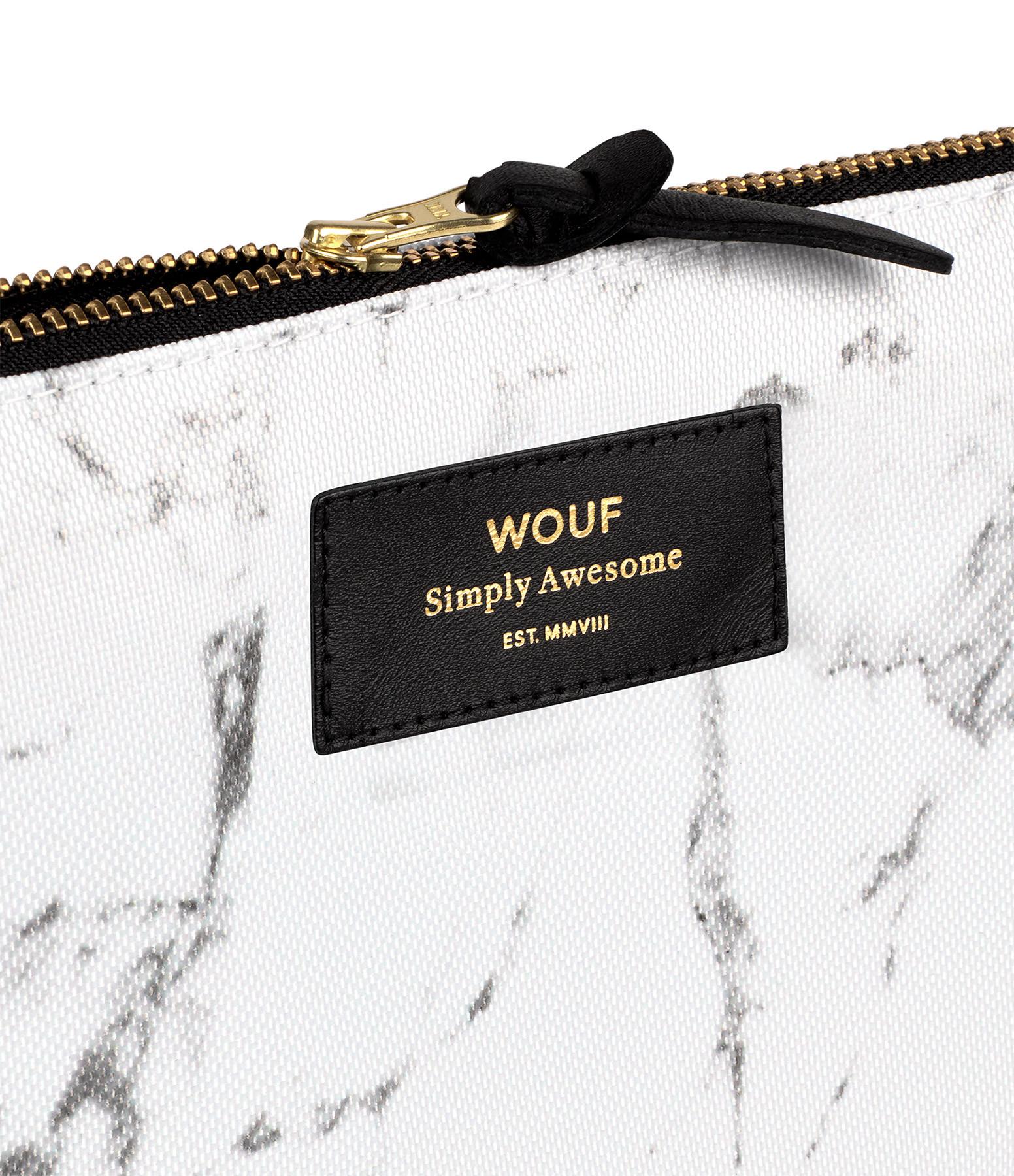 WOUF - Trousse XL White Marble