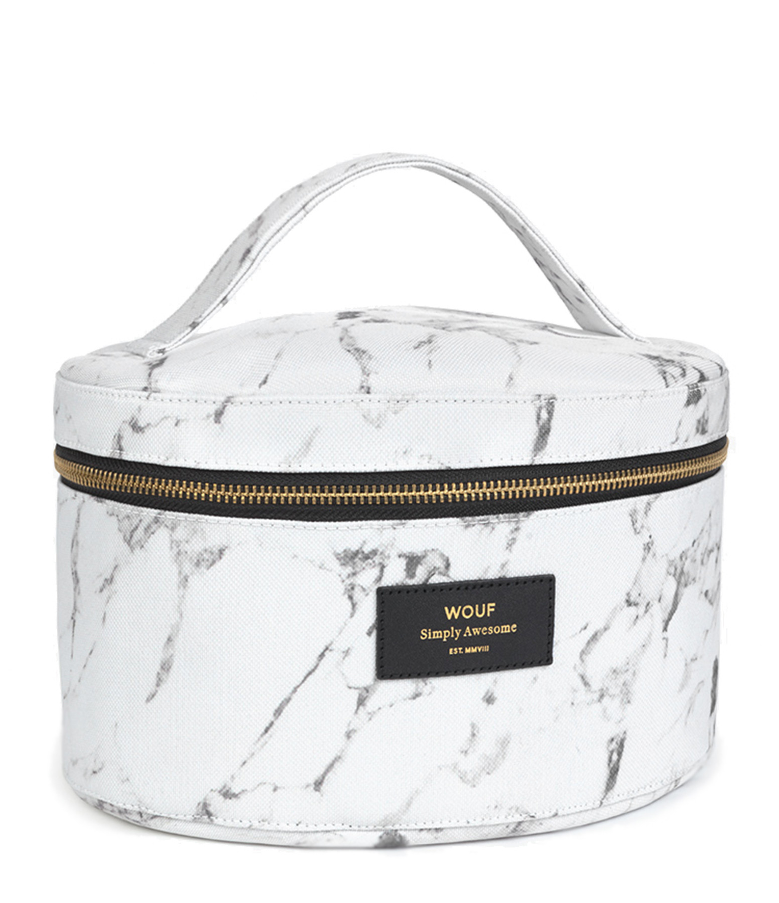 WOUF - Trousse XL Beauty White Marble