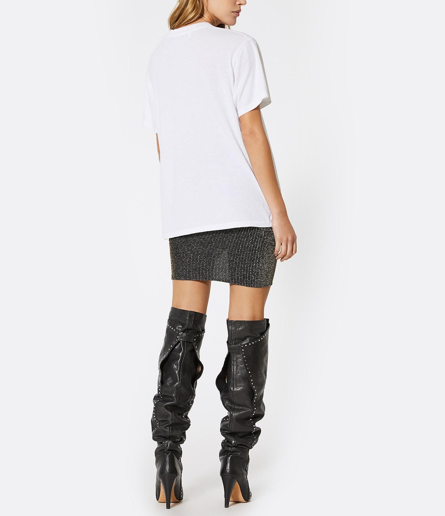 IRO - Tee-shirt Maryna Coton Blanc