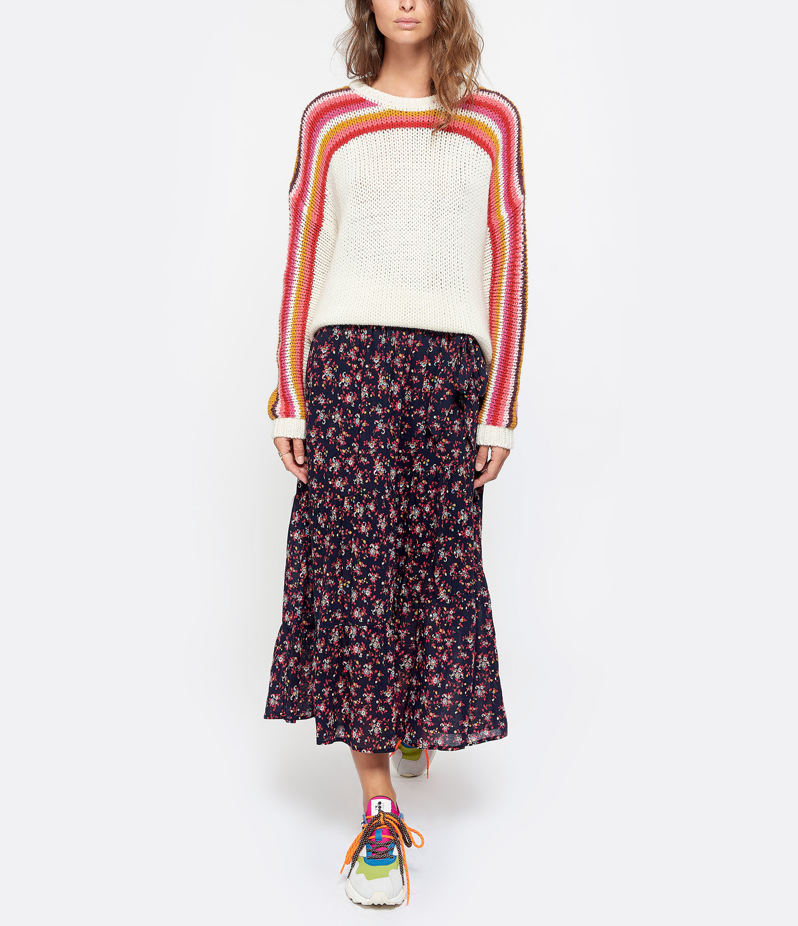 XIRENA - Sweatshirt Coton Rouge