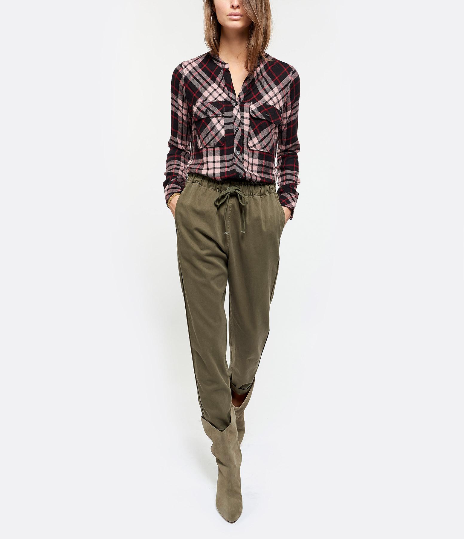 XIRENA - Pantalon Rex Twill Kaki