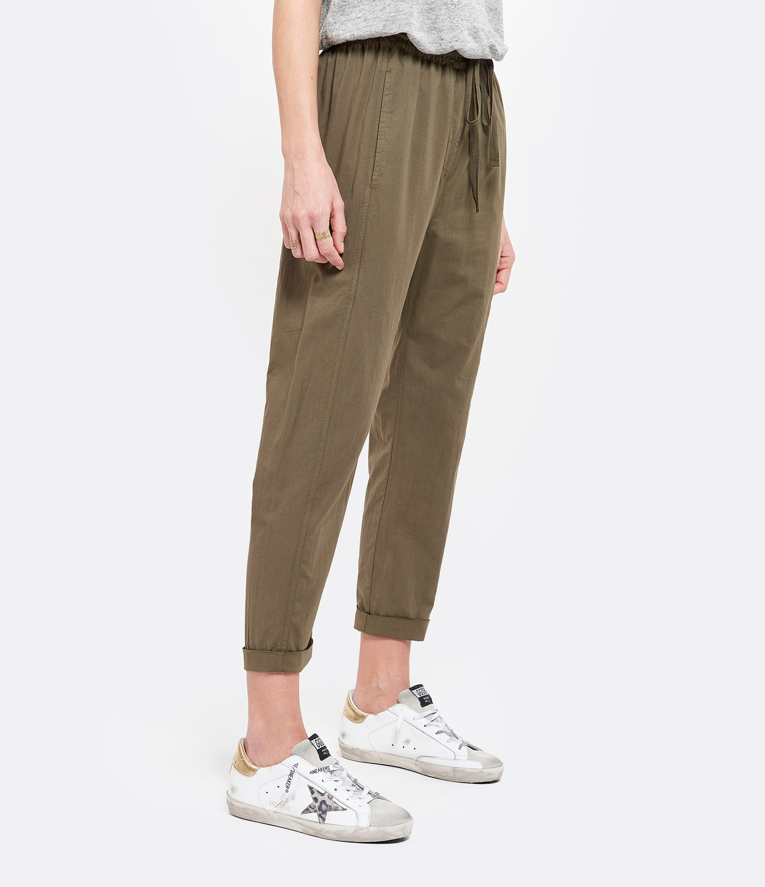 XIRENA - Pantalon Draper Marron