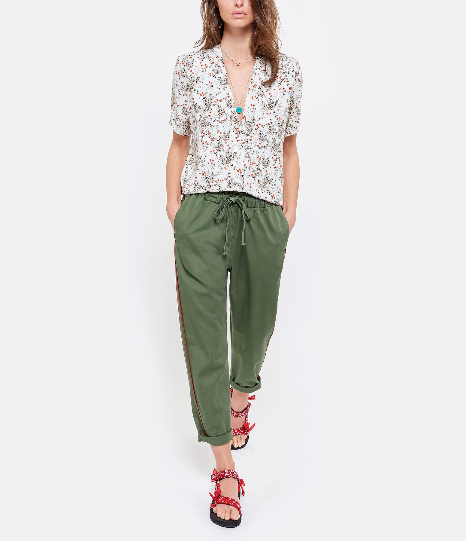 XIRENA - Pantalon Rex Coton Twill Vert