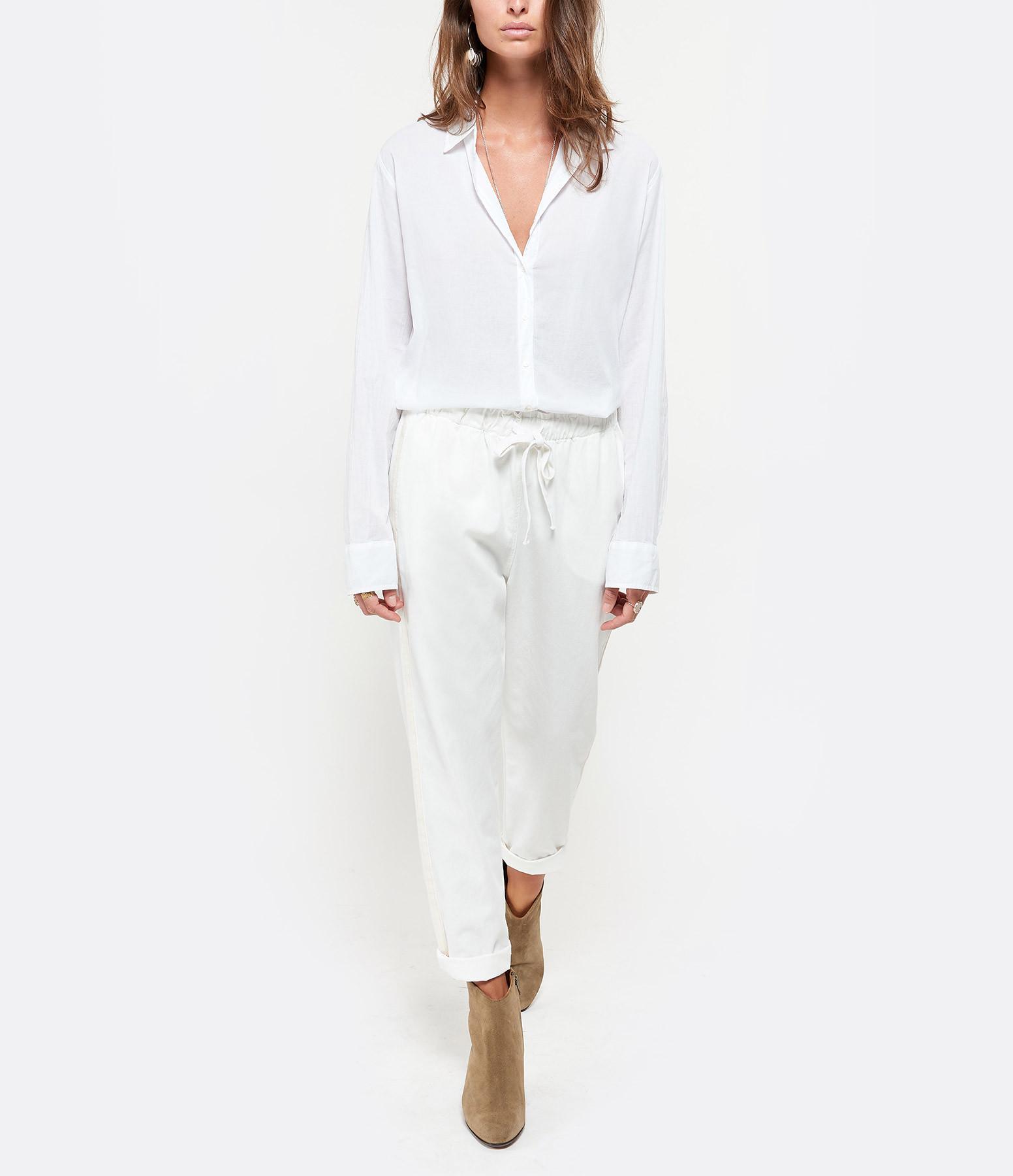 XIRENA - Pantalon Rex Coton Blanc