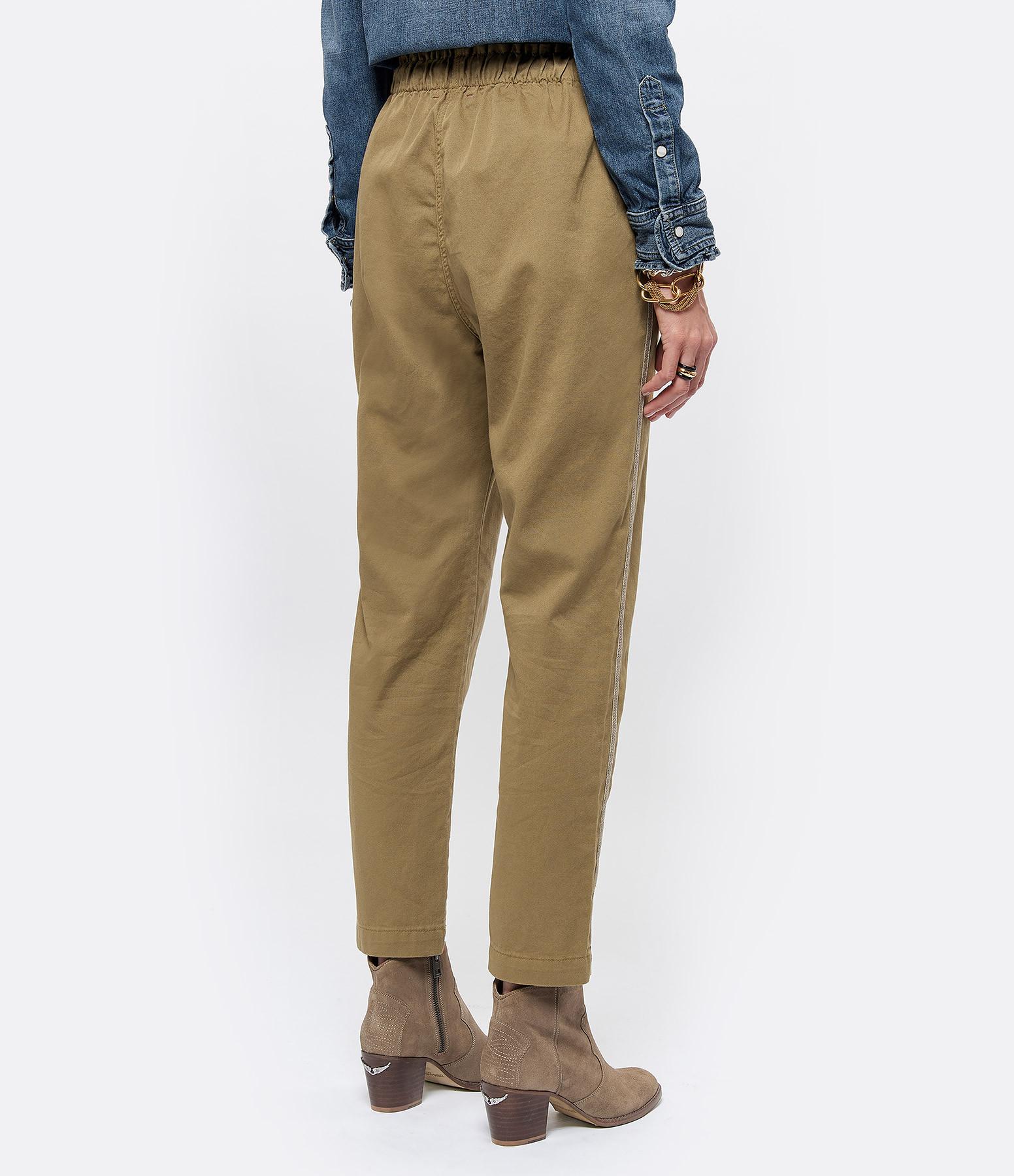 XIRENA - Pantalon Rex Coton Kaki