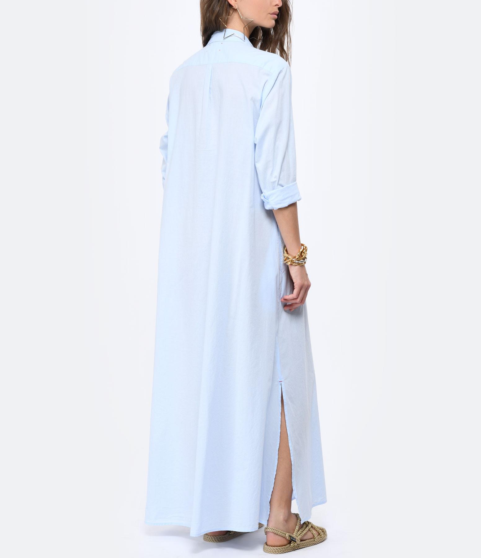 XIRENA - Robe Boden Coton Bleu Ciel
