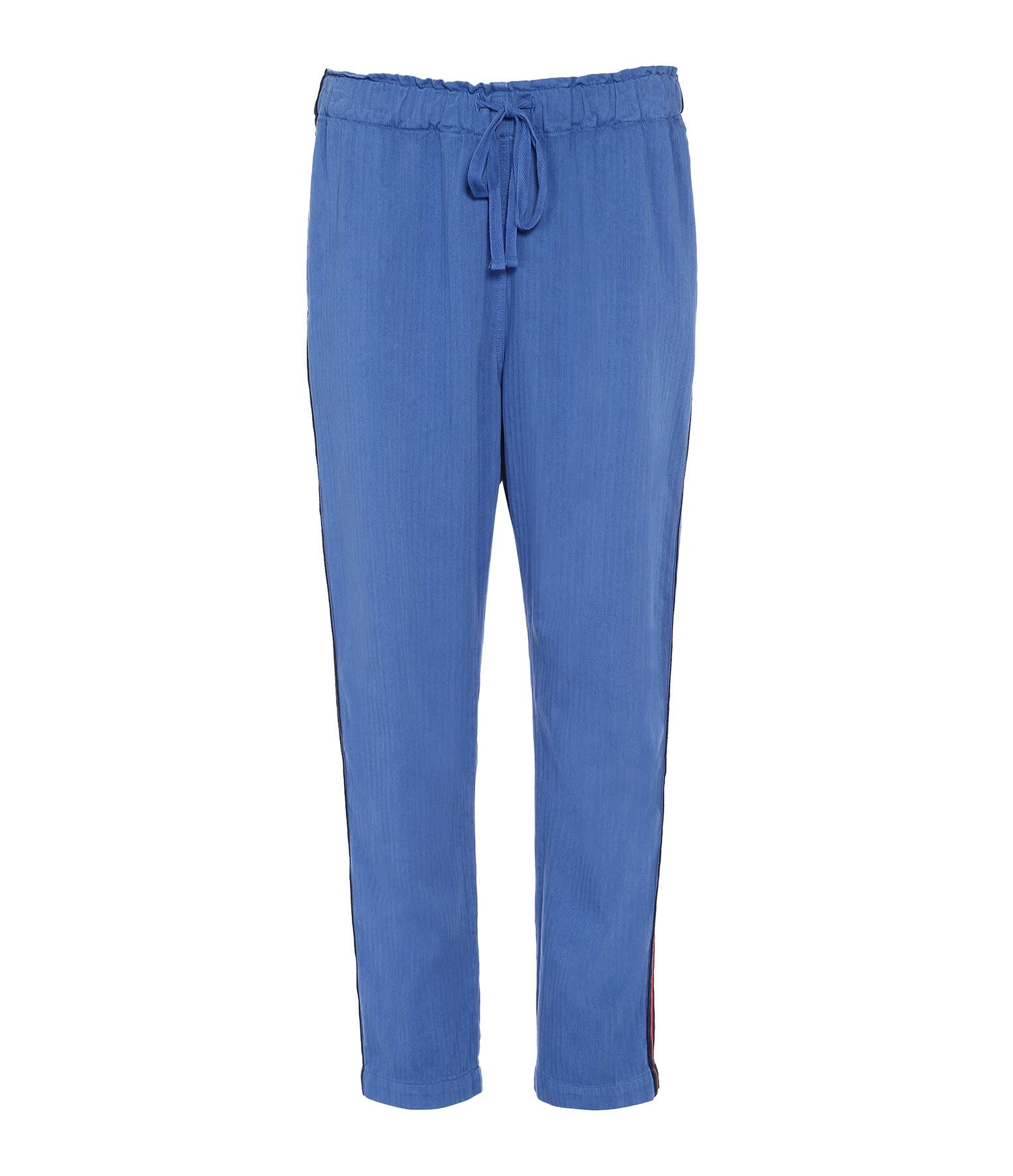 XIRENA - Pantalon Rex Bleu Ocean
