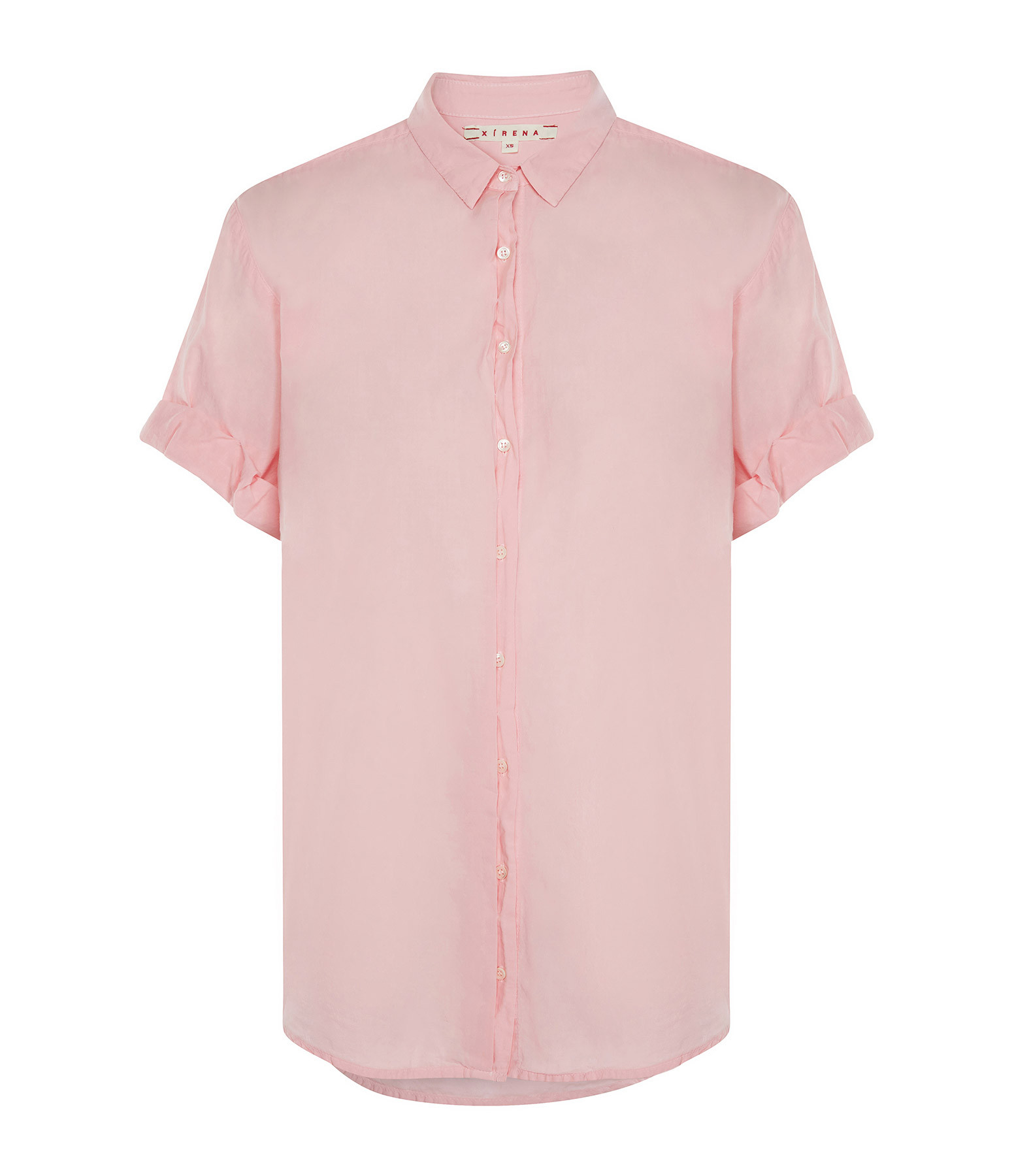 XIRENA - Chemise Channing Coton Rose Corail
