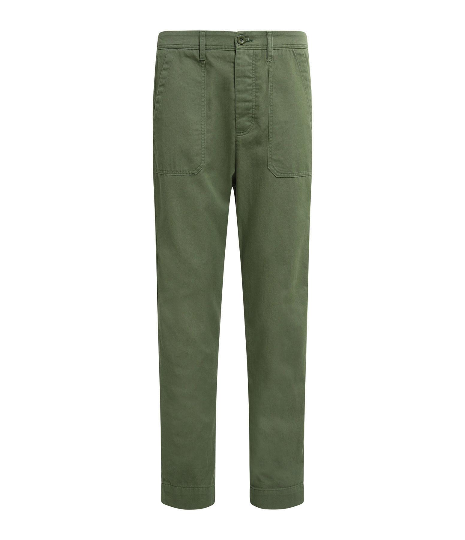 XIRENA - Pantalon Tucket Twill Vert