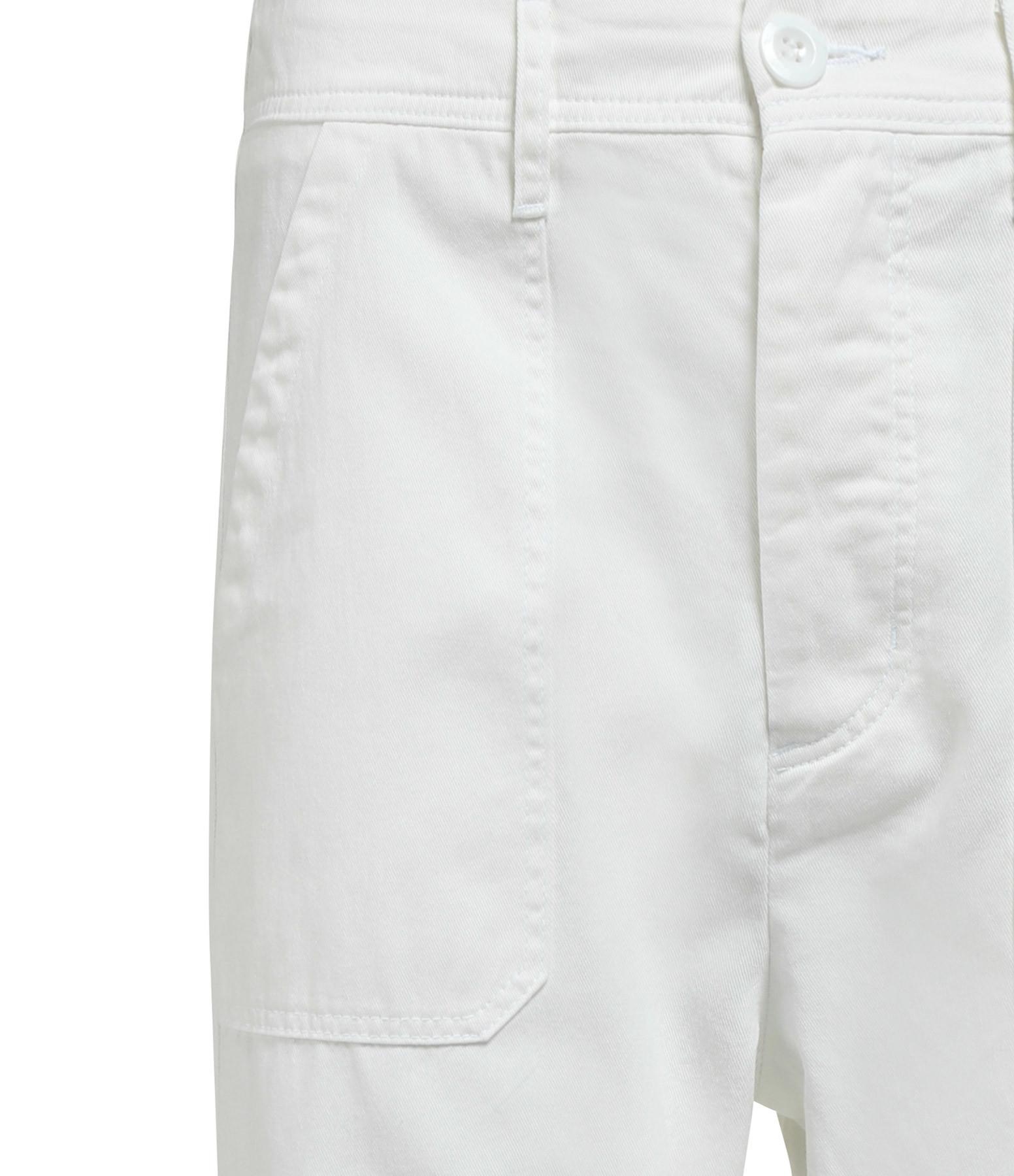 XIRENA - Pantalon Tucket Twill Blanc