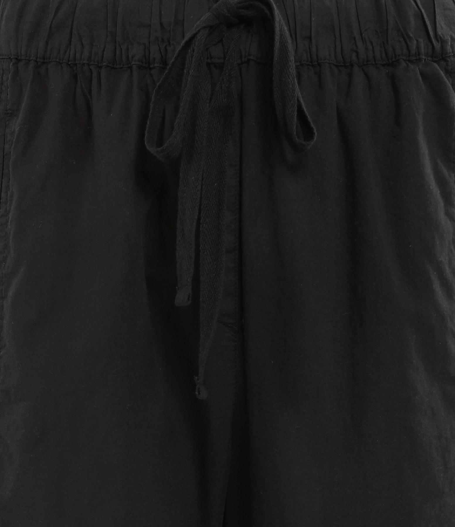 XIRENA - Pantalon Draper Coton Noir