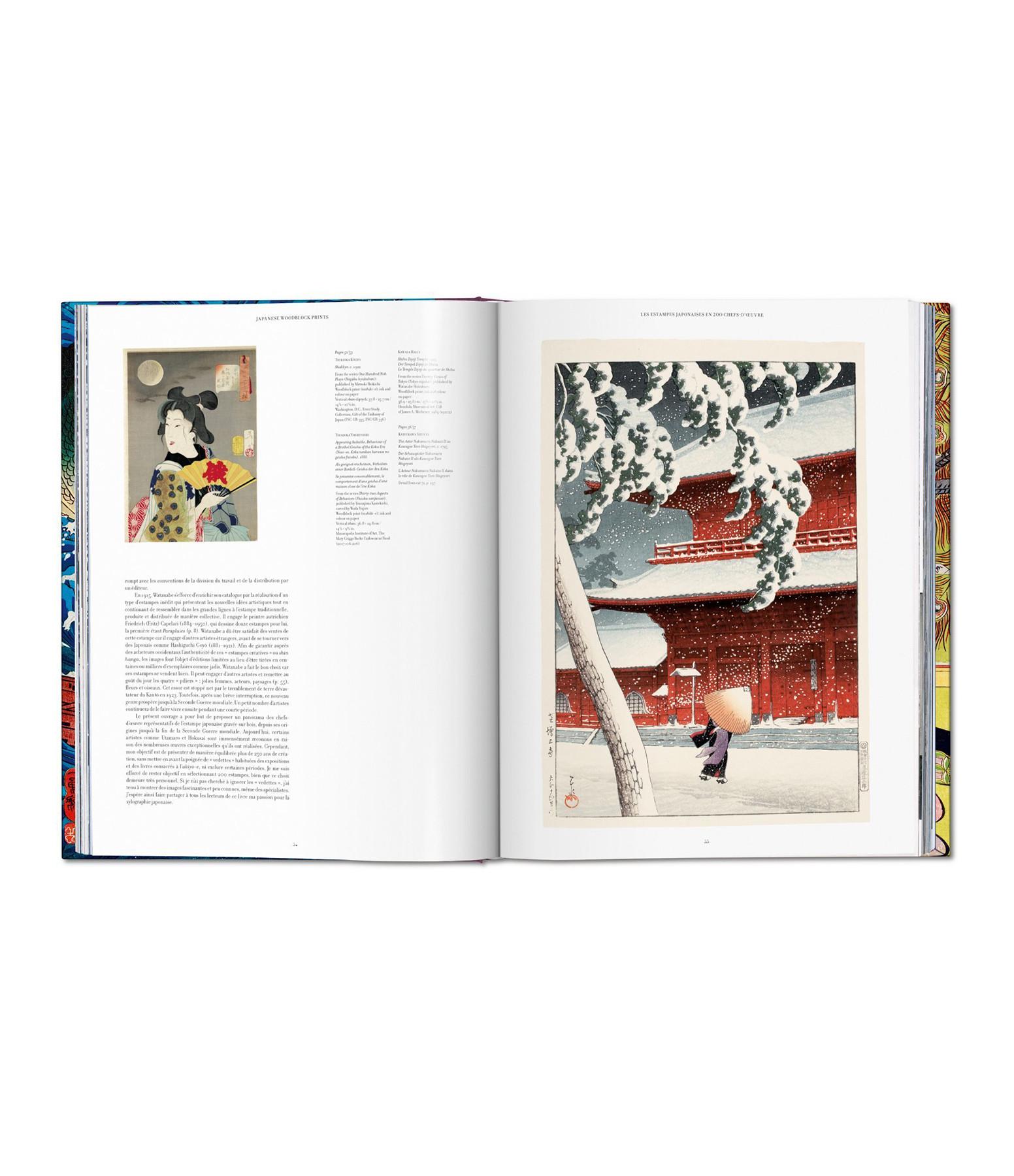 TASCHEN - Livre Japanese Woodblock Prints, 1680-1938