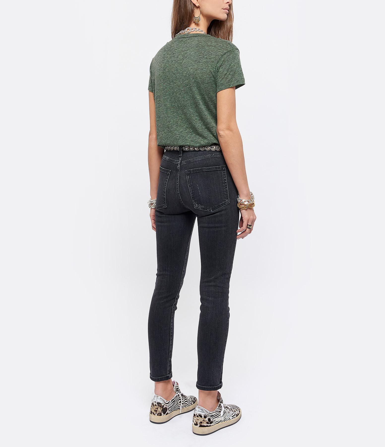 ZADIG & VOLTAIRE - Tee-shirt Walk Amour Coton Amande