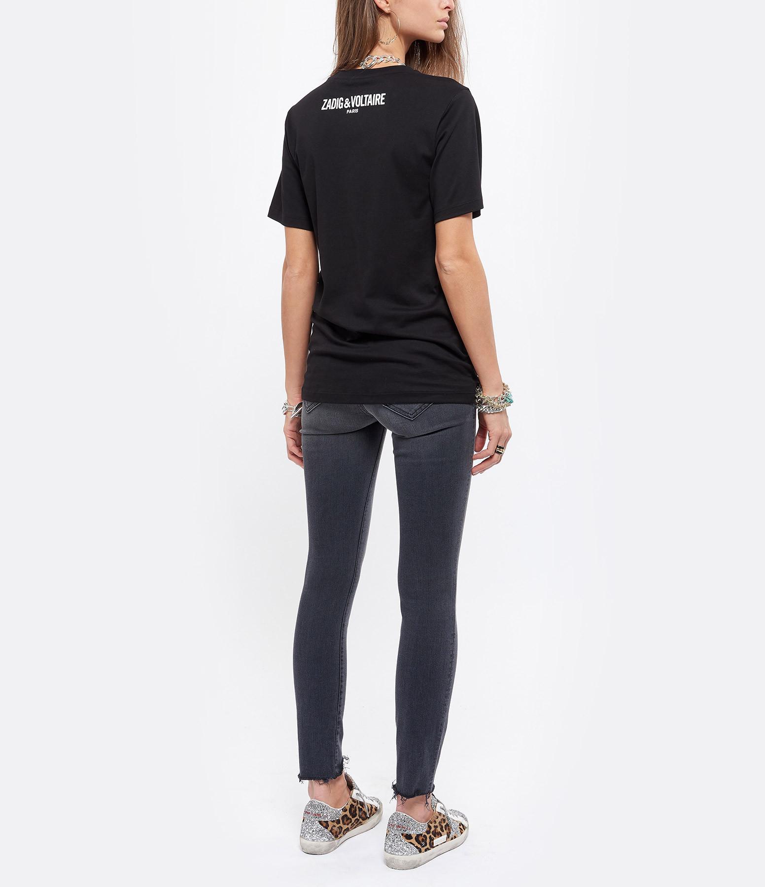 ZADIG & VOLTAIRE - Tee-shirt Bella Coton Noir