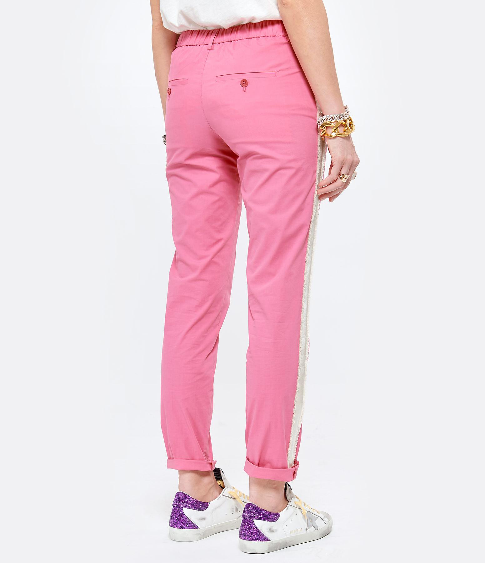 ZADIG & VOLTAIRE - Pantalon Pomelo Coton Rose
