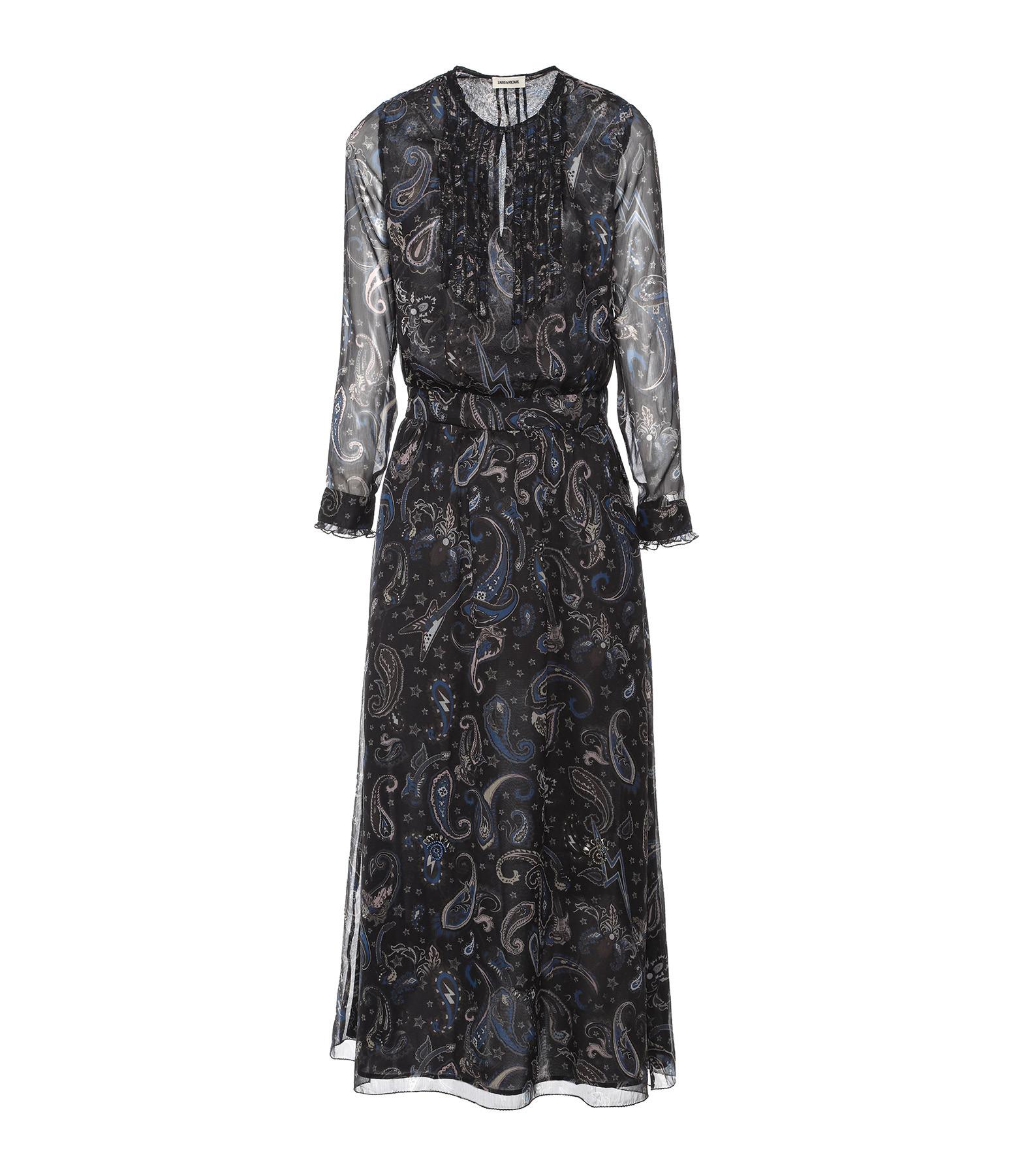 ZADIG & VOLTAIRE - Robe Remus Long Noir