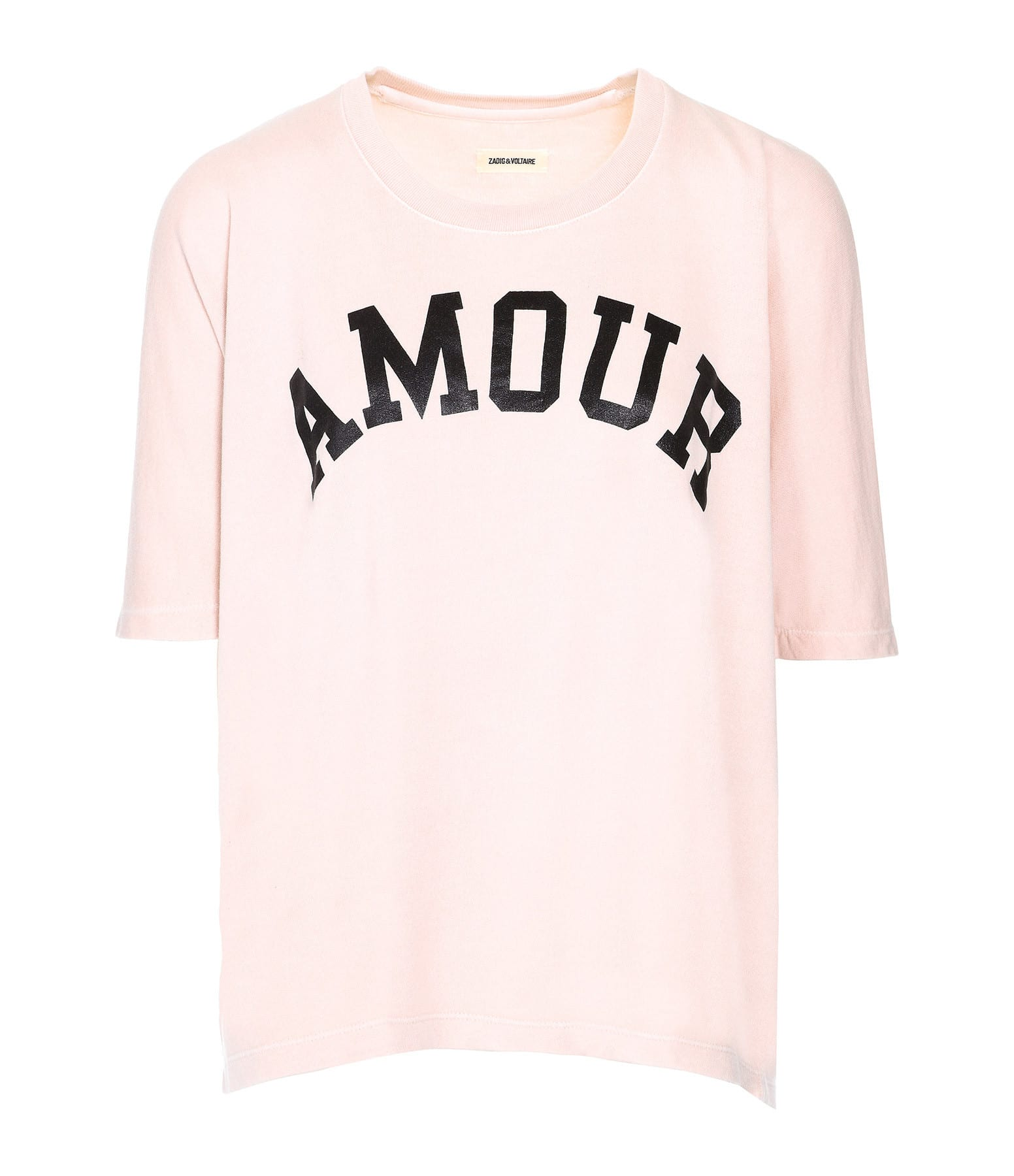 ZADIG & VOLTAIRE - Sweatshirt Portland Amour Coton Tutu